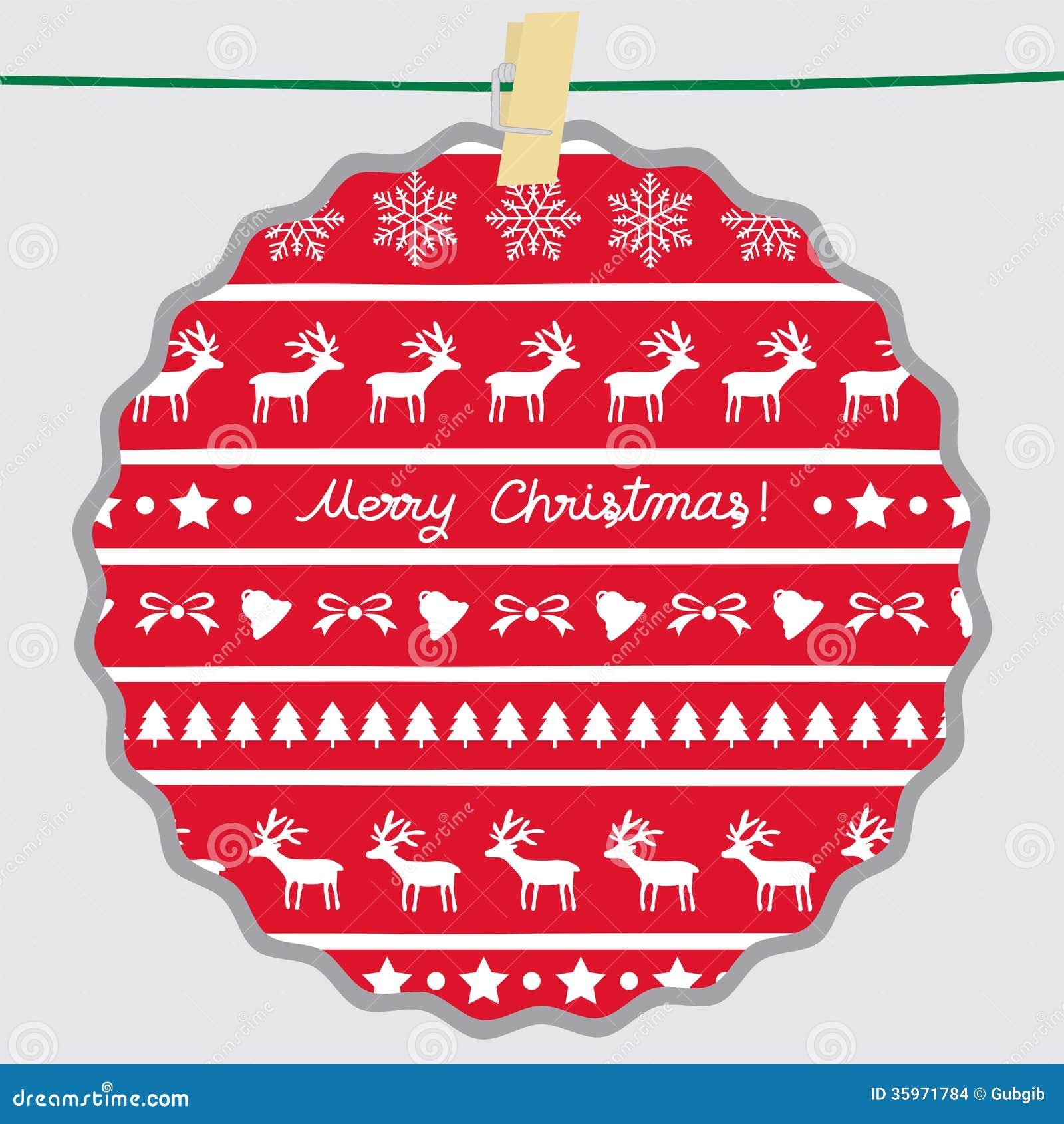 La Navidad card65 de saludo