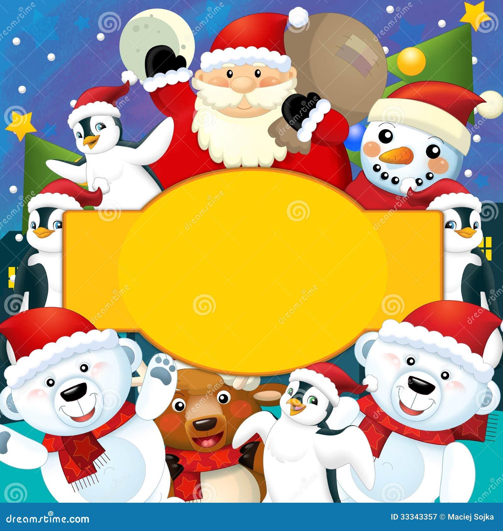 la navidad colorida tarjeta de felicitacin ejemplo para los nios fotografa de archivo libre
