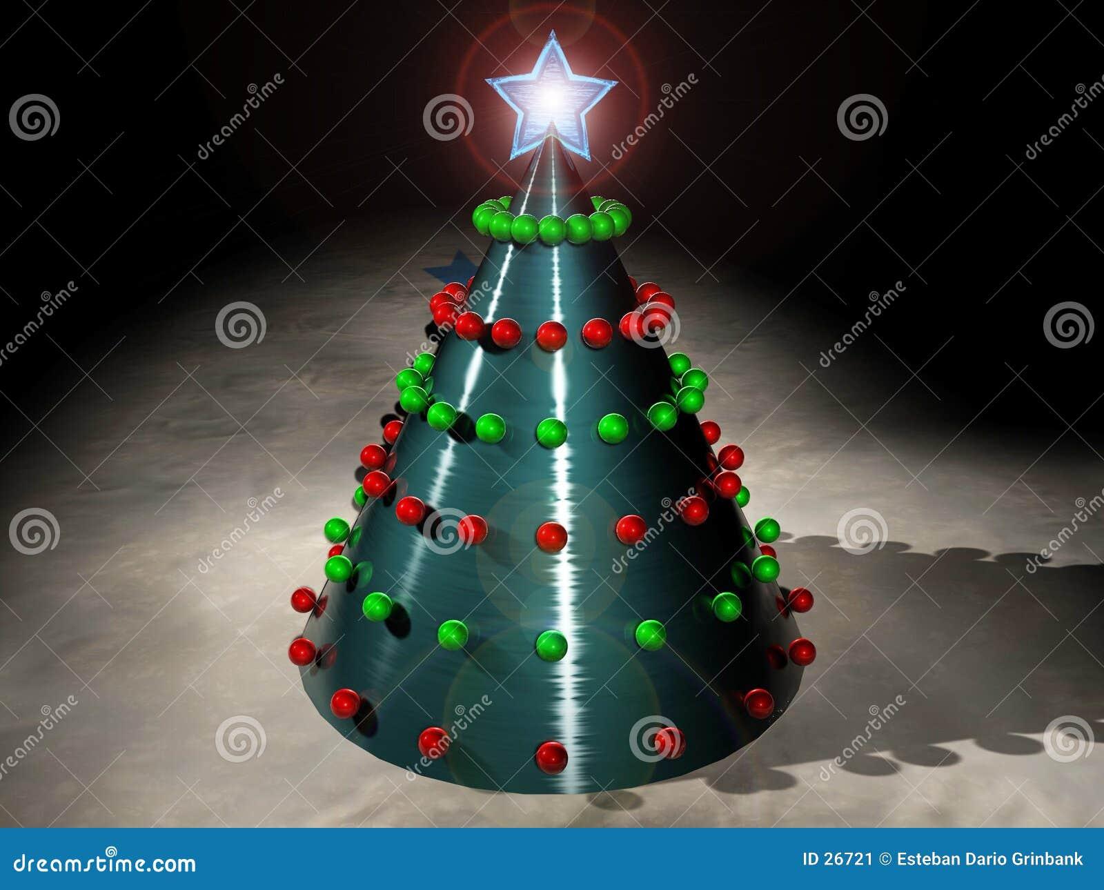 Download La Navidad de Techno stock de ilustración. Ilustración de estrellas - 26721