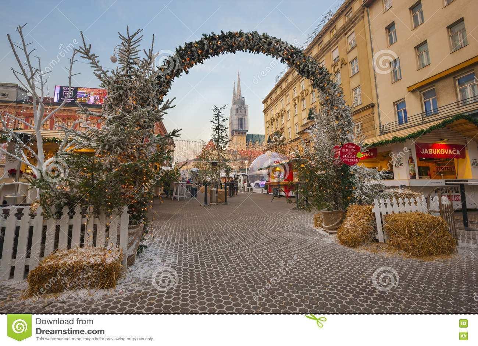 La Navidad de Zagreb