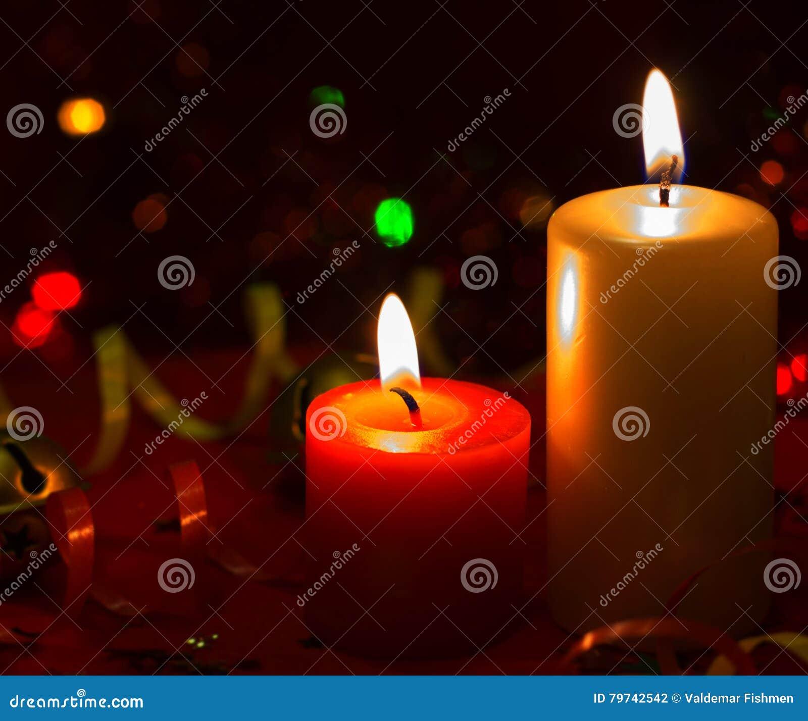 La Navidad dos velas