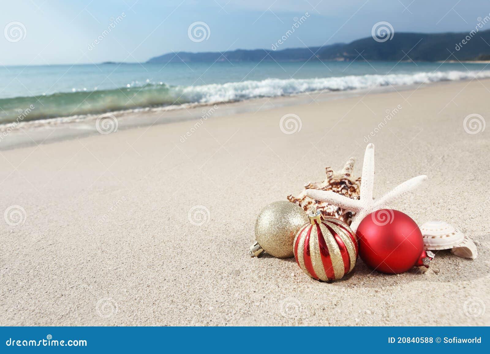La Navidad en la playa