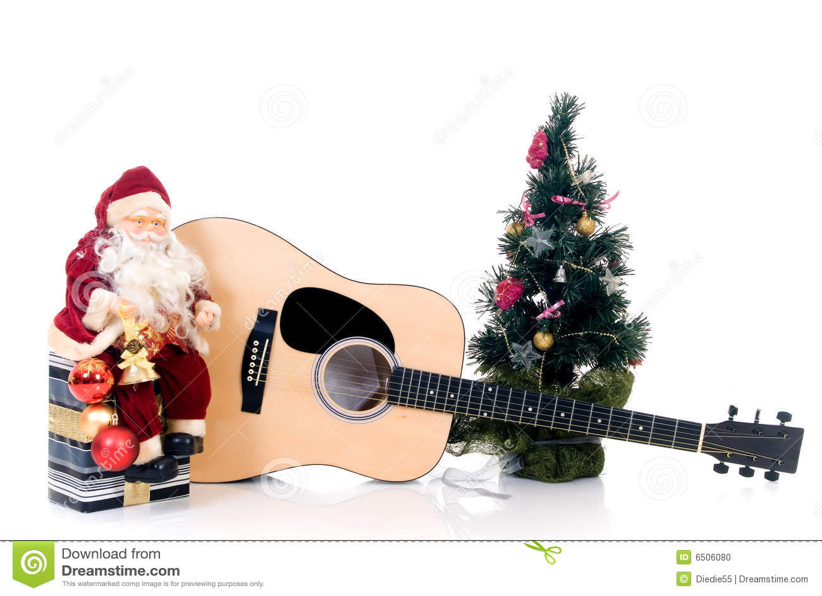 La Navidad Musical Foto De Archivo Imagen 6506080