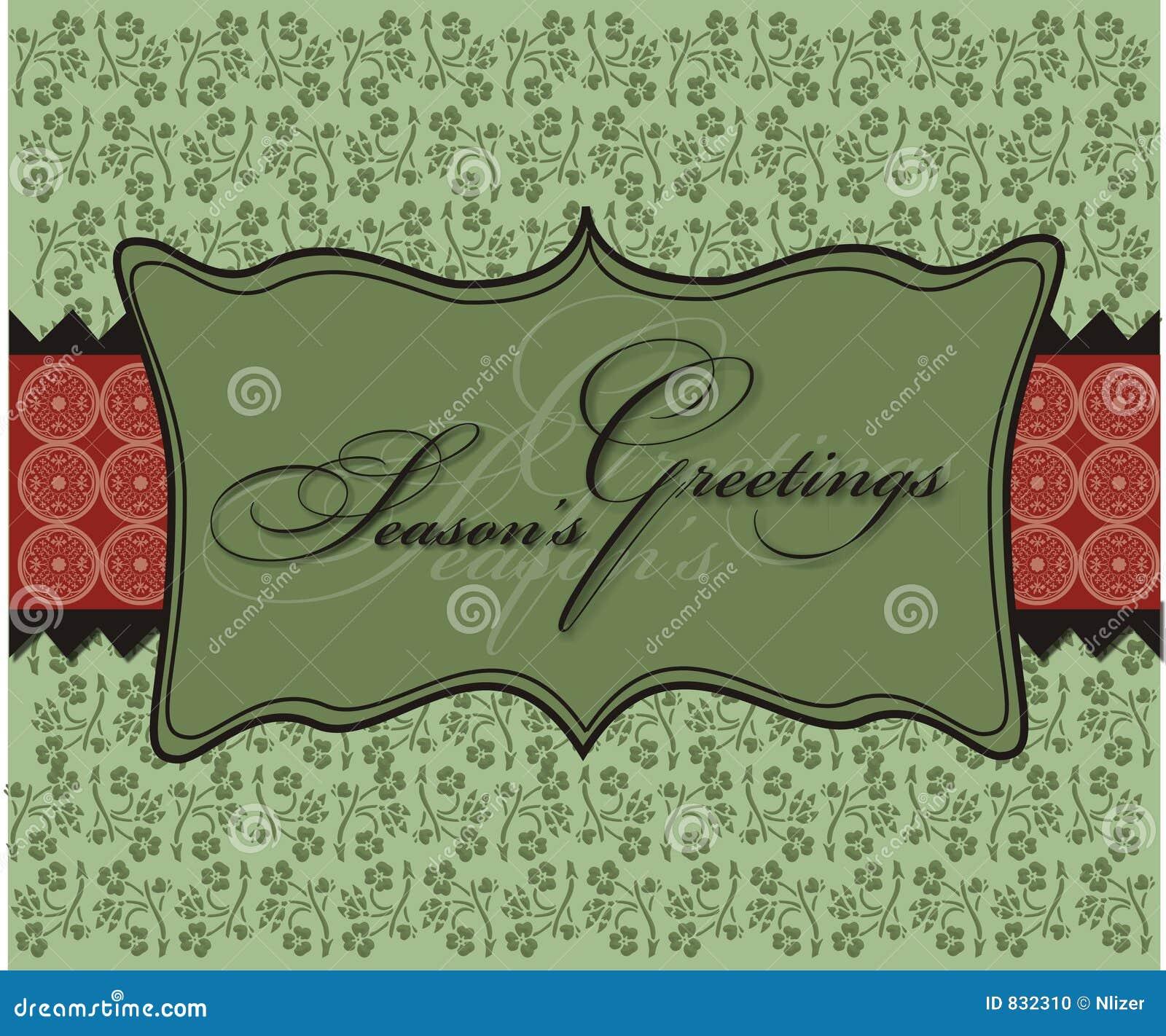 La Navidad sazona el papel pintado del fondo de los saludos