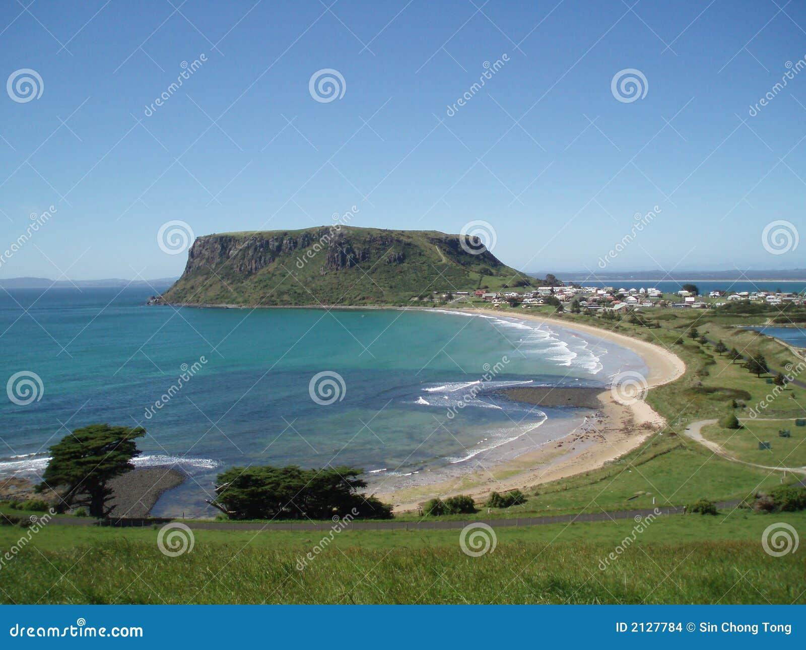 La noix de Stanley en Tasmanie