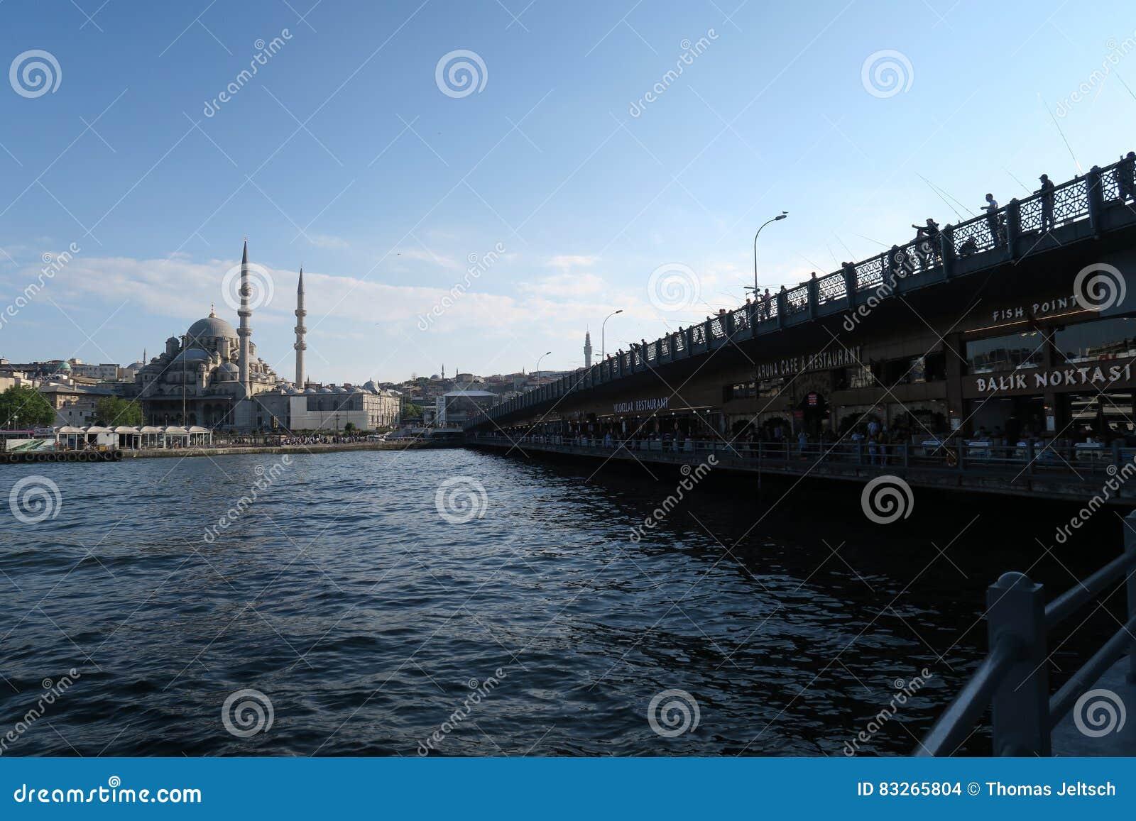 La nouvelle mosquée - Yeni Cami - sultan à l origine appelé de Valide à Istanbul, Turquie