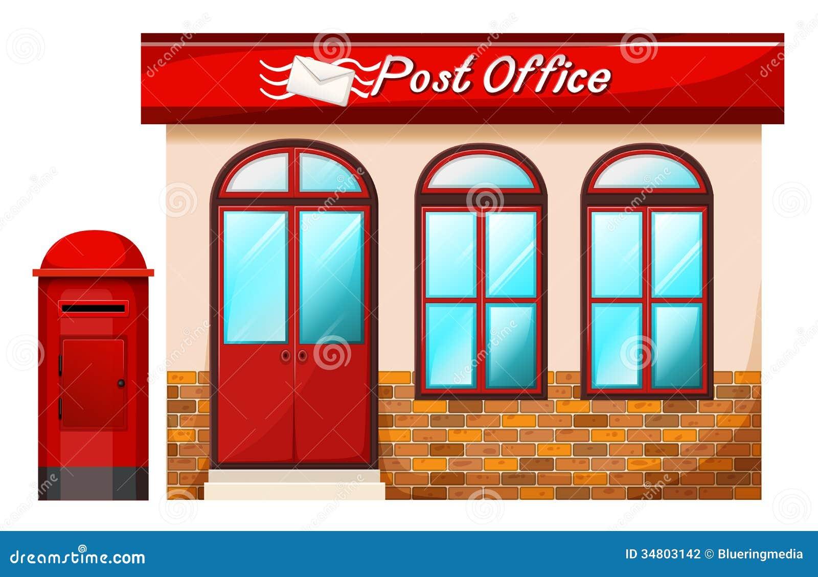 La oficina de correos fotograf a de archivo imagen 34803142 for Oficina correos mostoles
