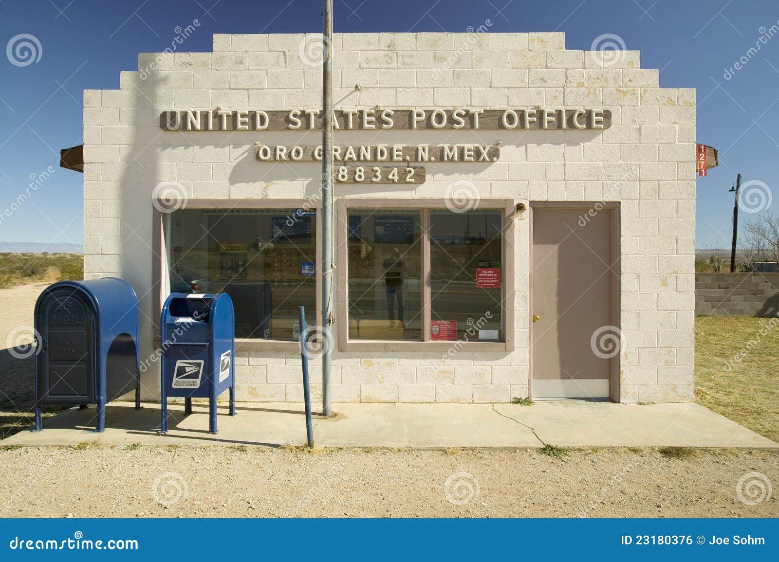 La oficina de correos de los e e u u en oro grande foto for Oficina de correos en