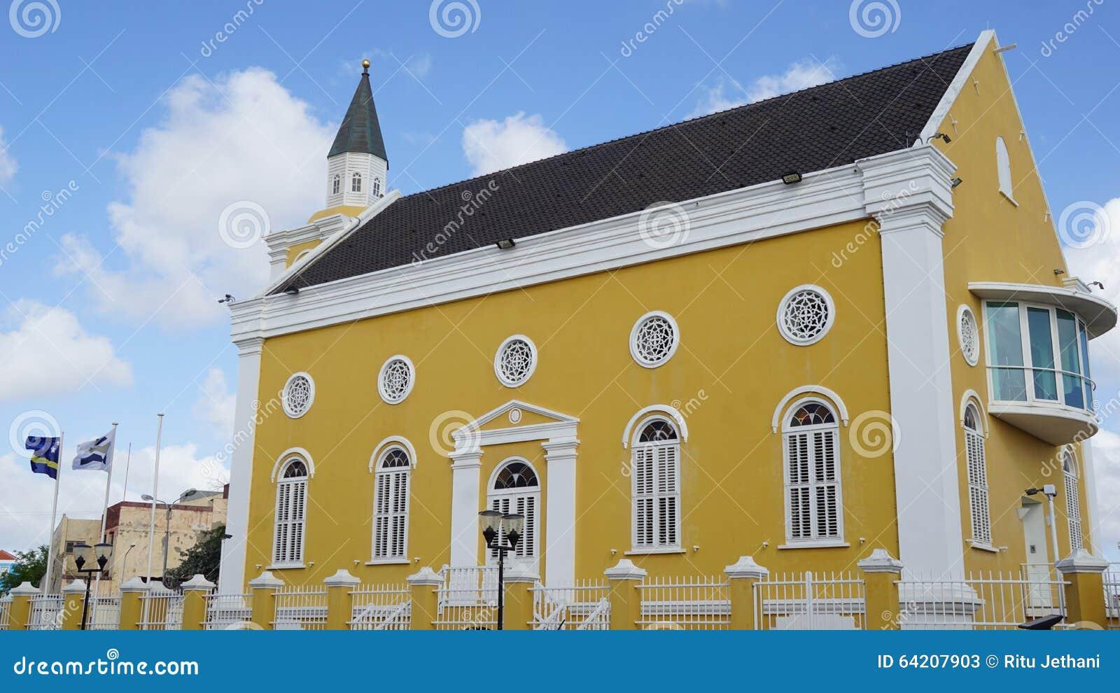 La oficina de fiscal en Willemstad, Curaçao