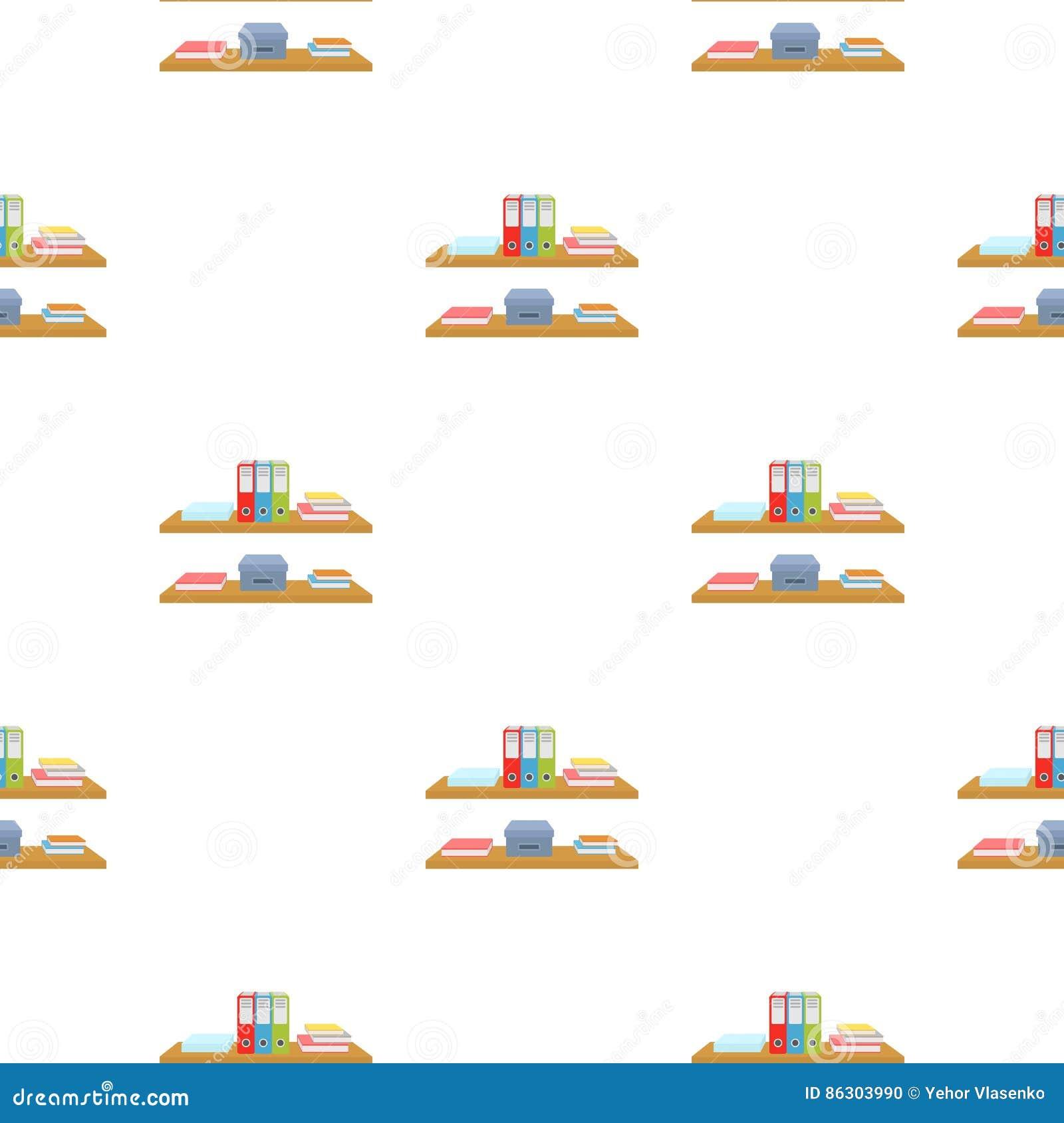 La Oficina Deja De Lado Con El Icono De Las Carpetas De Archivos  # Muebles Ficheros