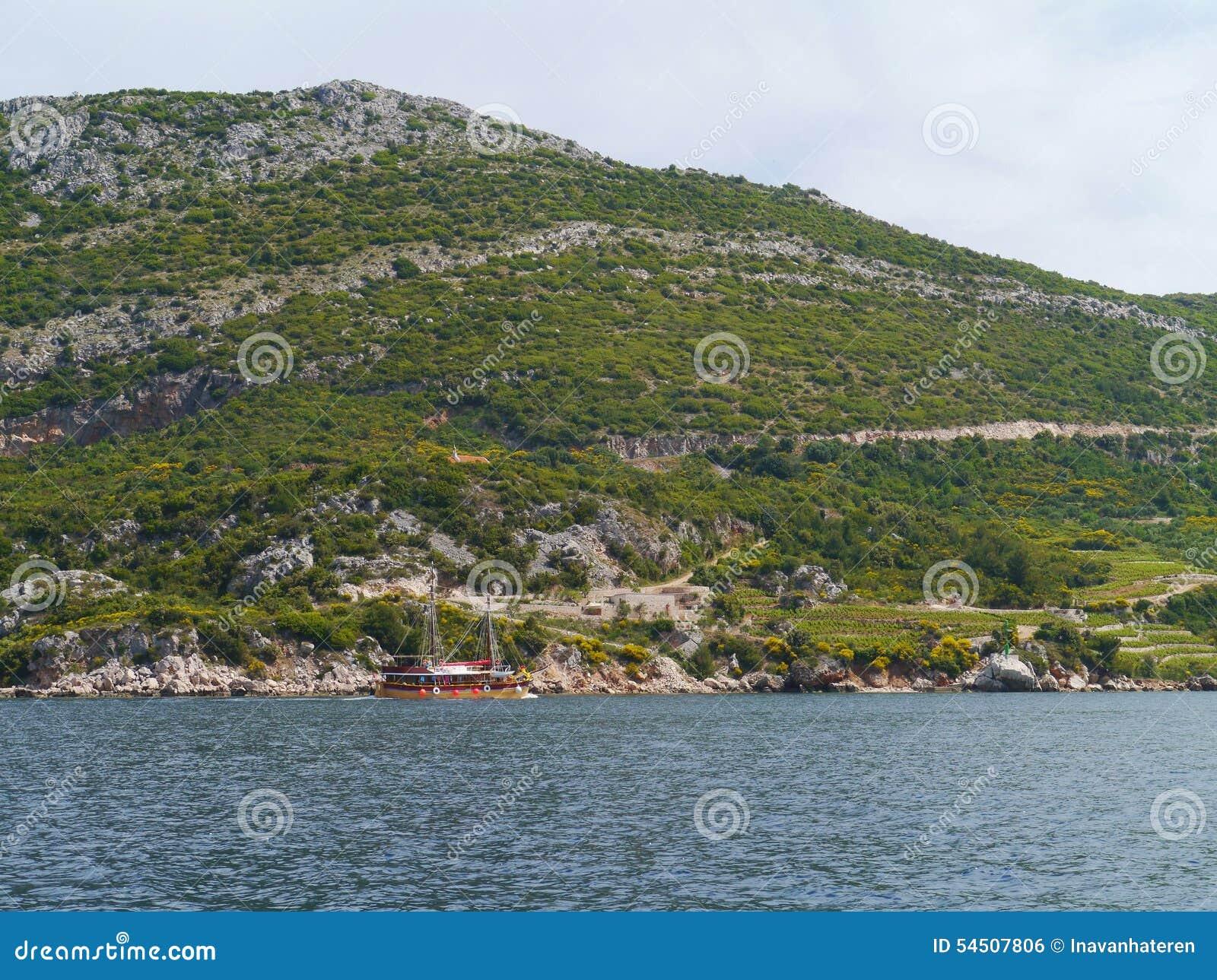 La péninsule croate Peljesac