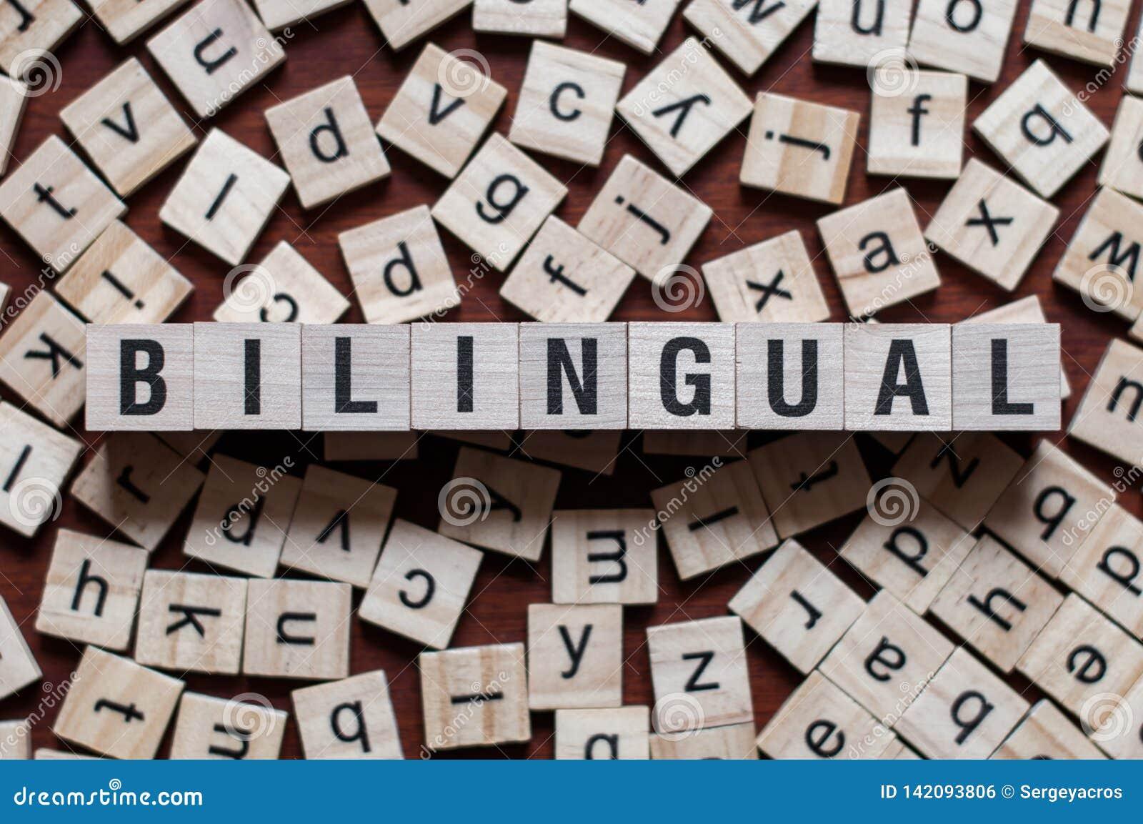 La palabra del bilingüe en concepto de las unidades de creación