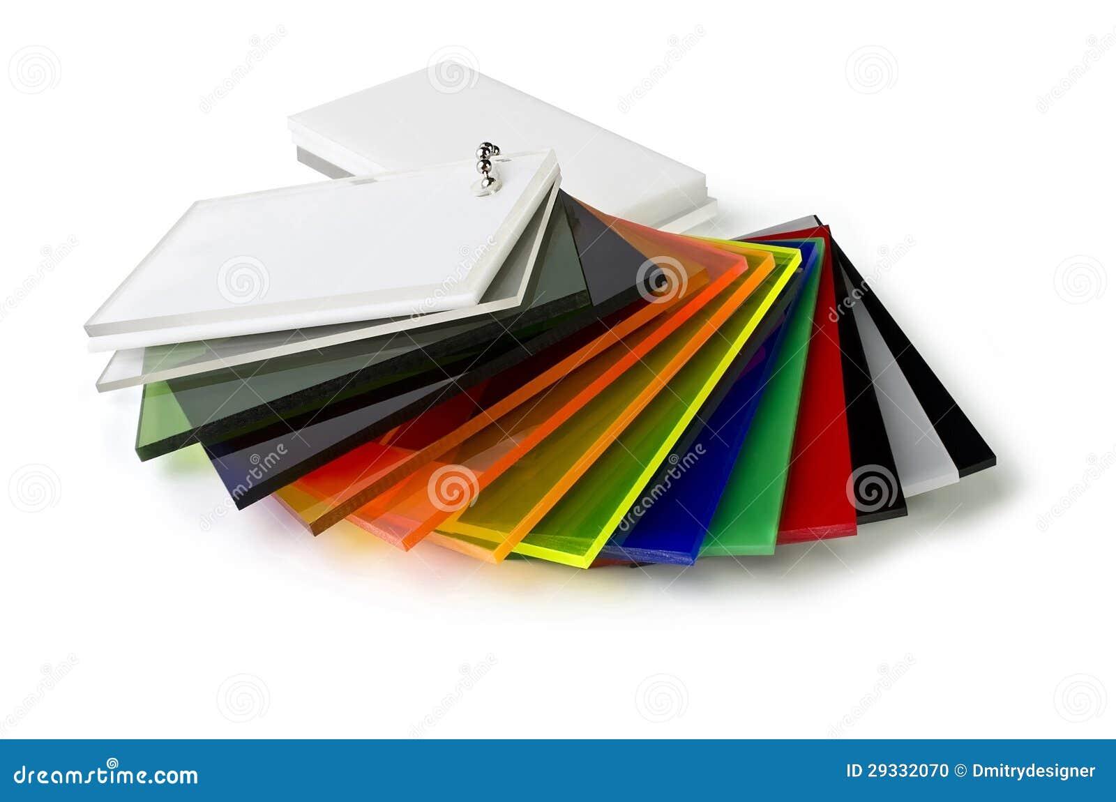 La Palette De Couleurs De L 39 Acrylique Photo Stock Image 29332070