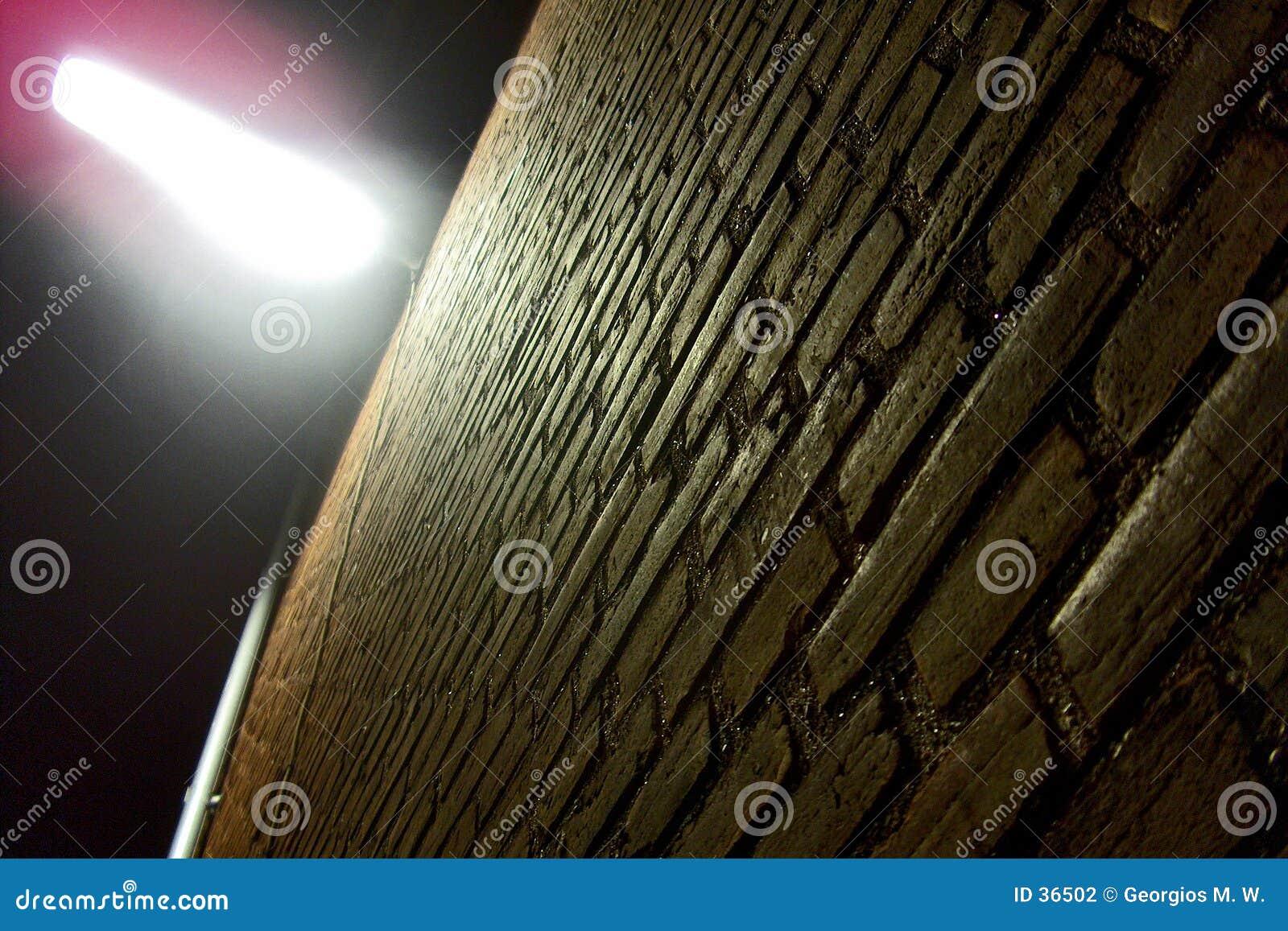 Download La pared foto de archivo. Imagen de ladrillos, perspectiva - 36502