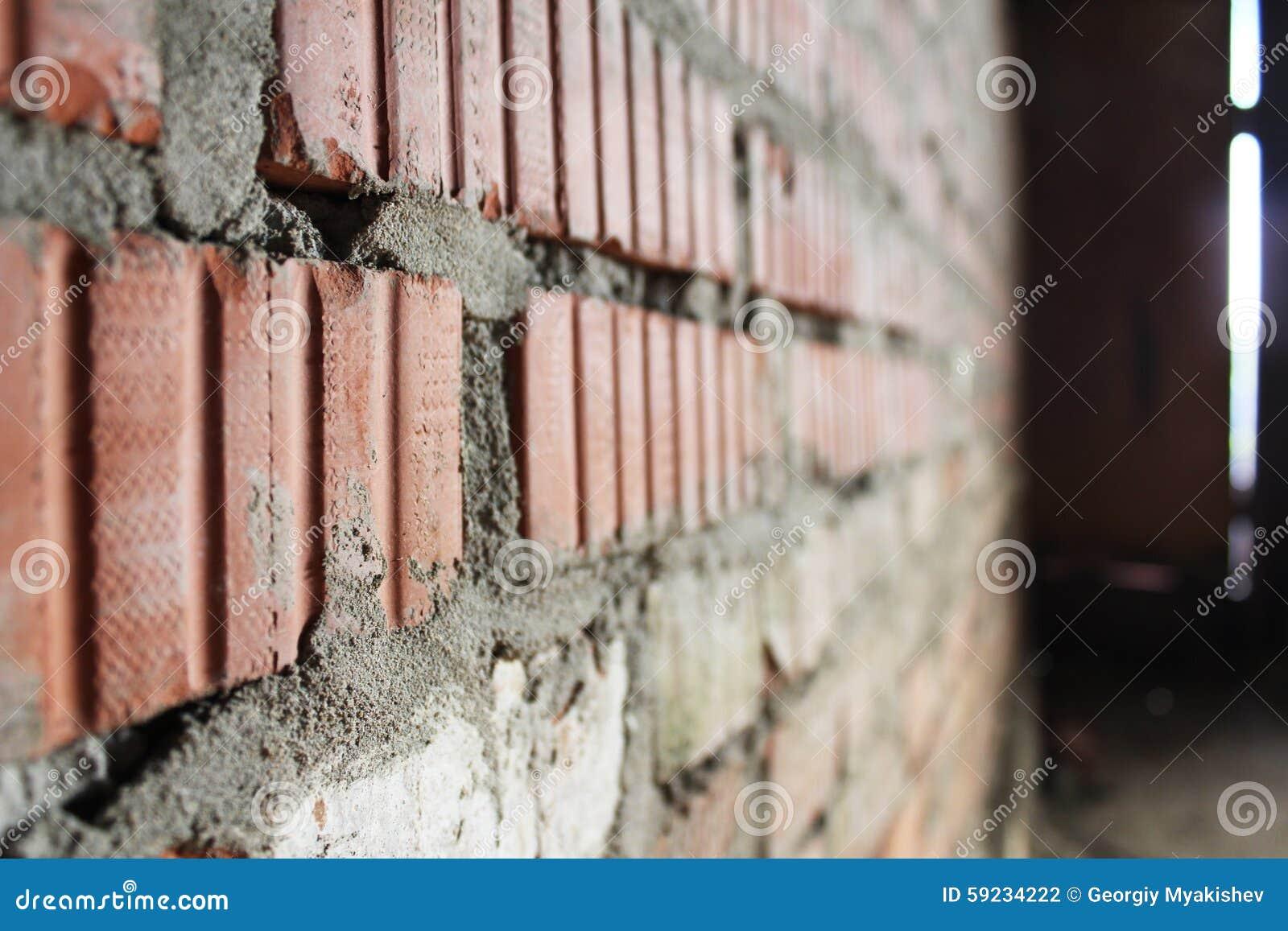 La pared de ladrillo