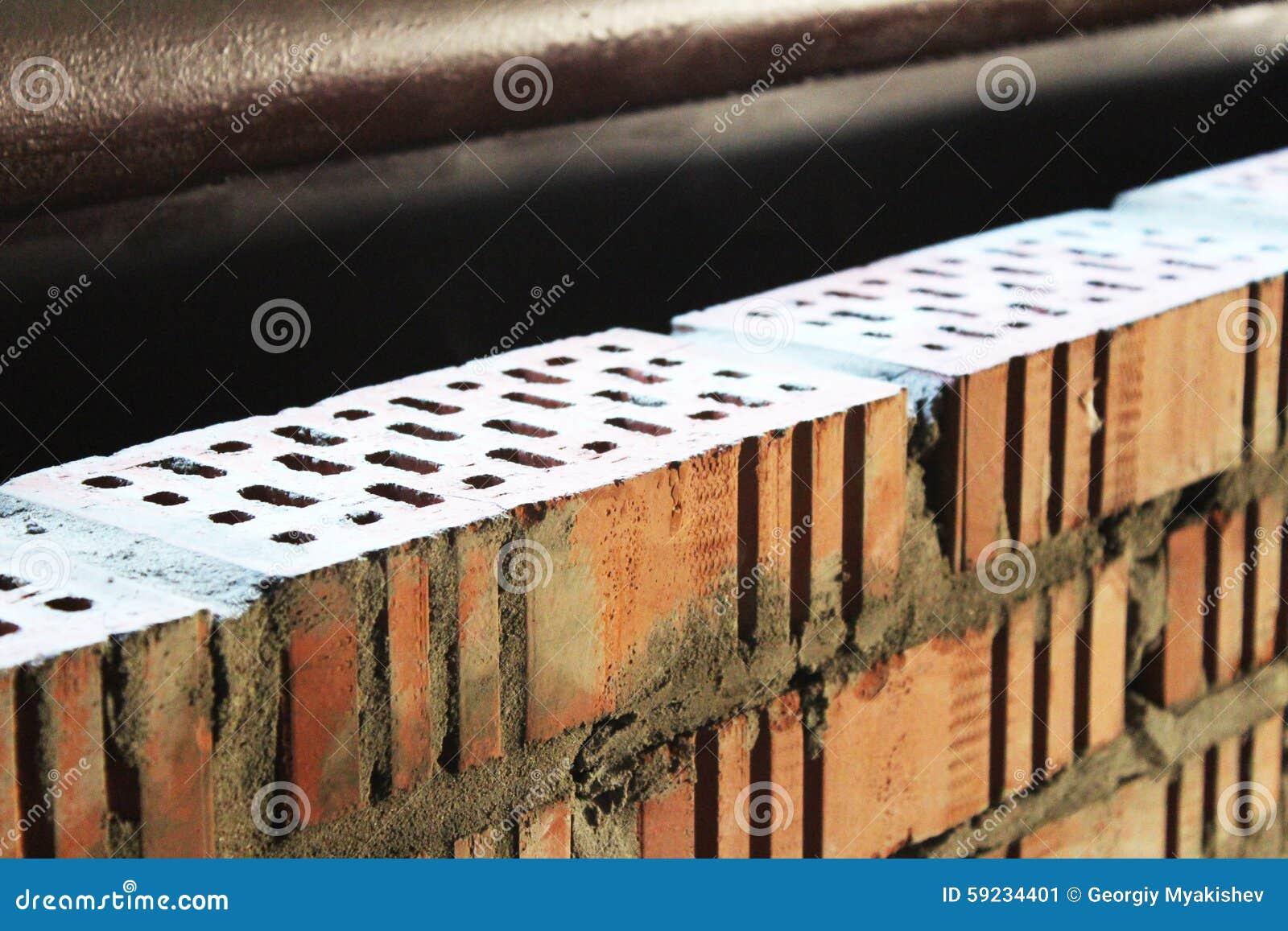 Download La pared de ladrillo imagen de archivo. Imagen de mortero - 59234401