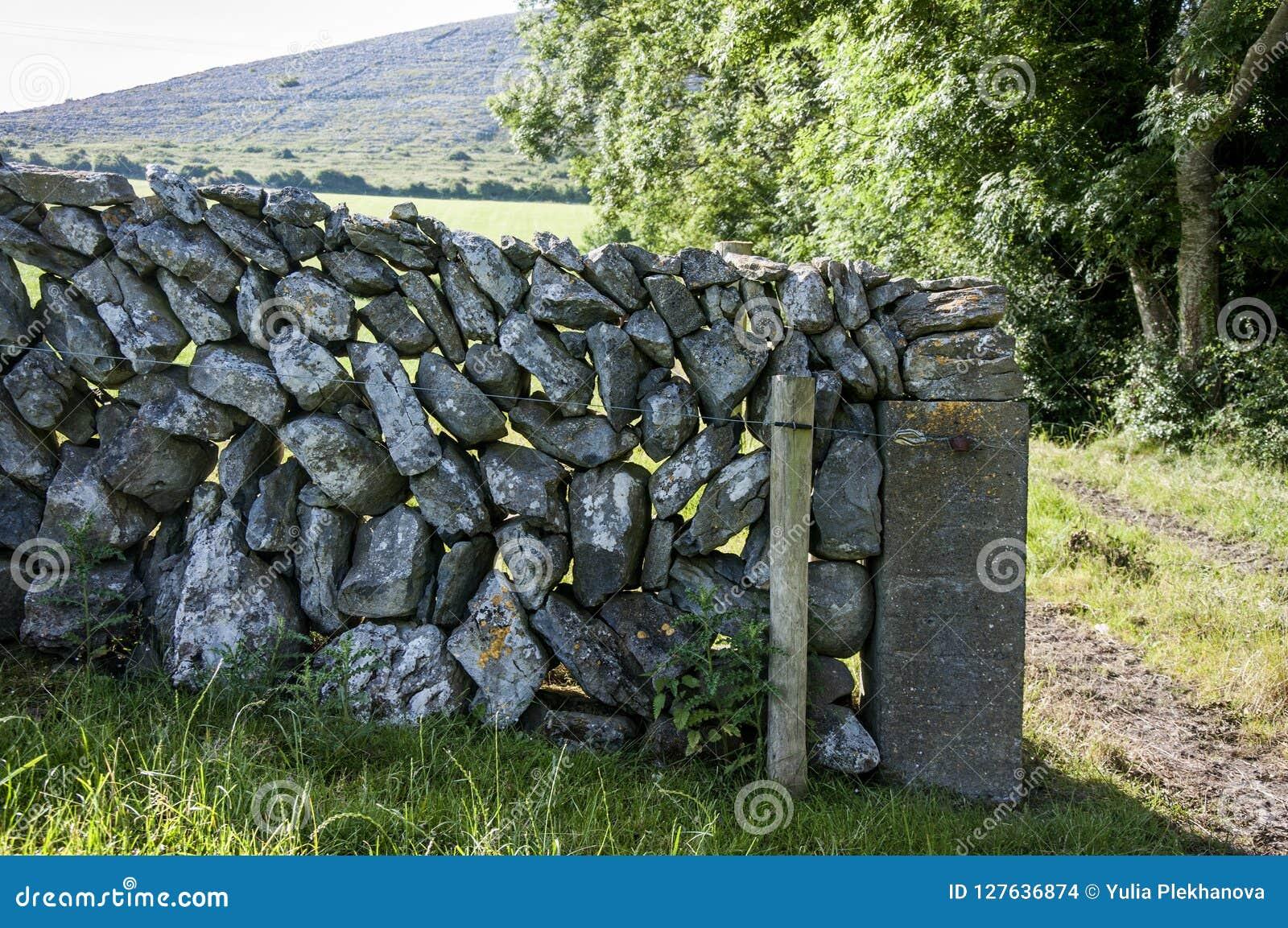 La pared Drystone