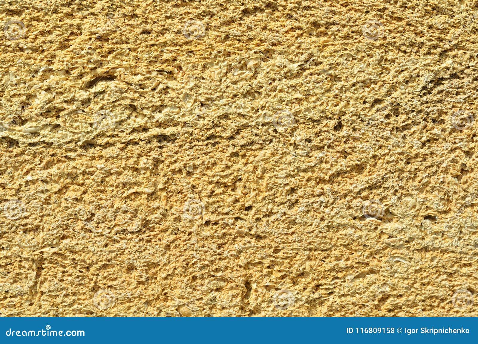 La parete è fatta del mattone della Crimea, il mattone dalle coperture, struttura