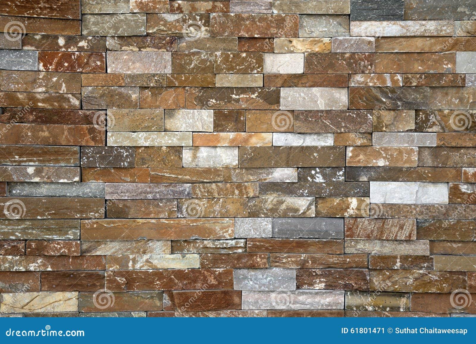 La parete di pietra piastrella il marmo marrone arrugginito immagine stock immagine di morbido - Piastrelle da parete pietra ...