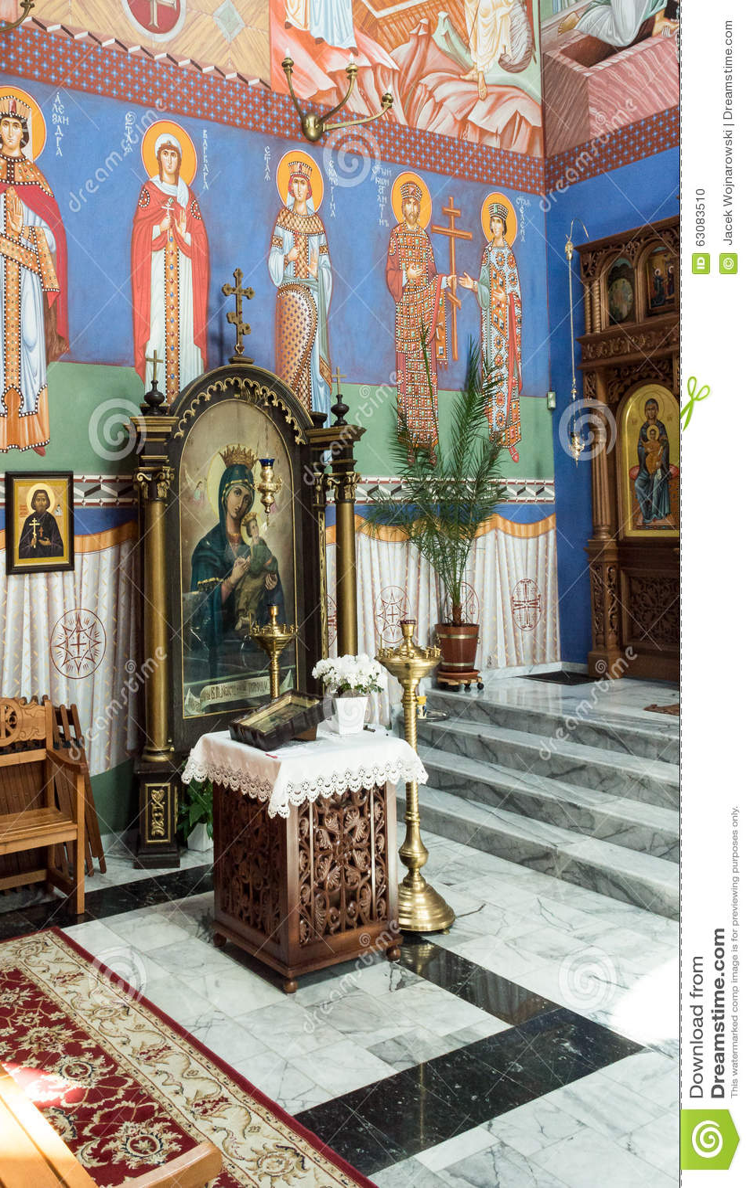Download La Paroisse Orthodoxe De Saint-Nicolas A Image éditorial - Image du occidental, symbole: 63083510