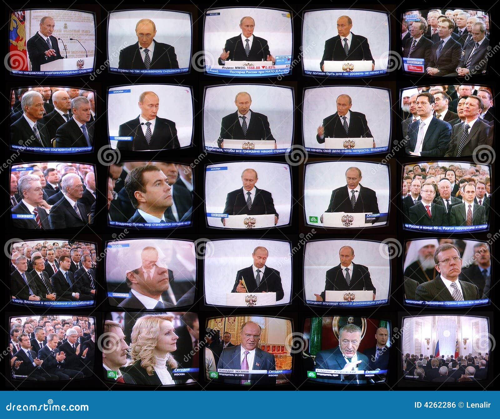 La parole du président de la Russie