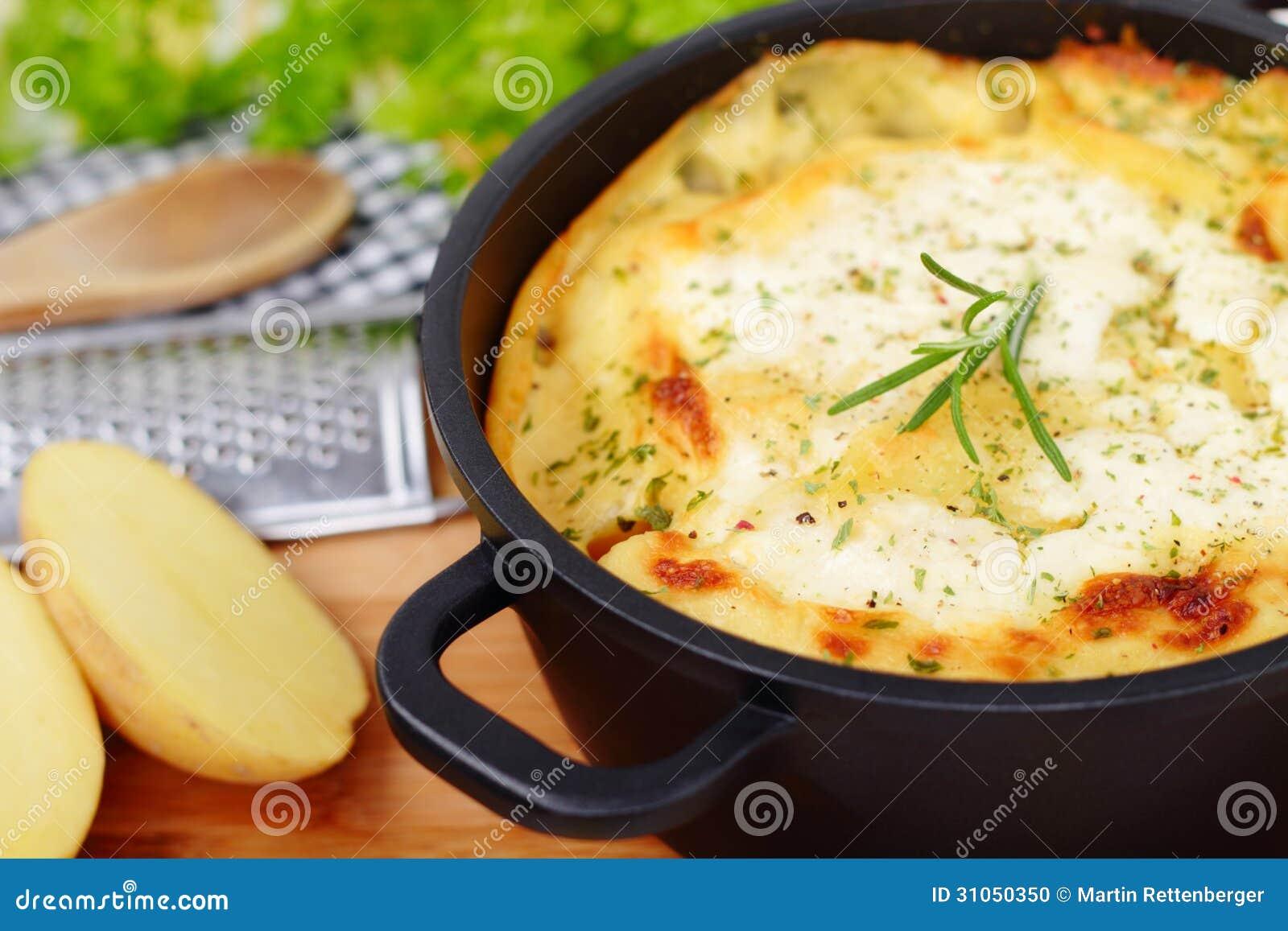 La patata cuece