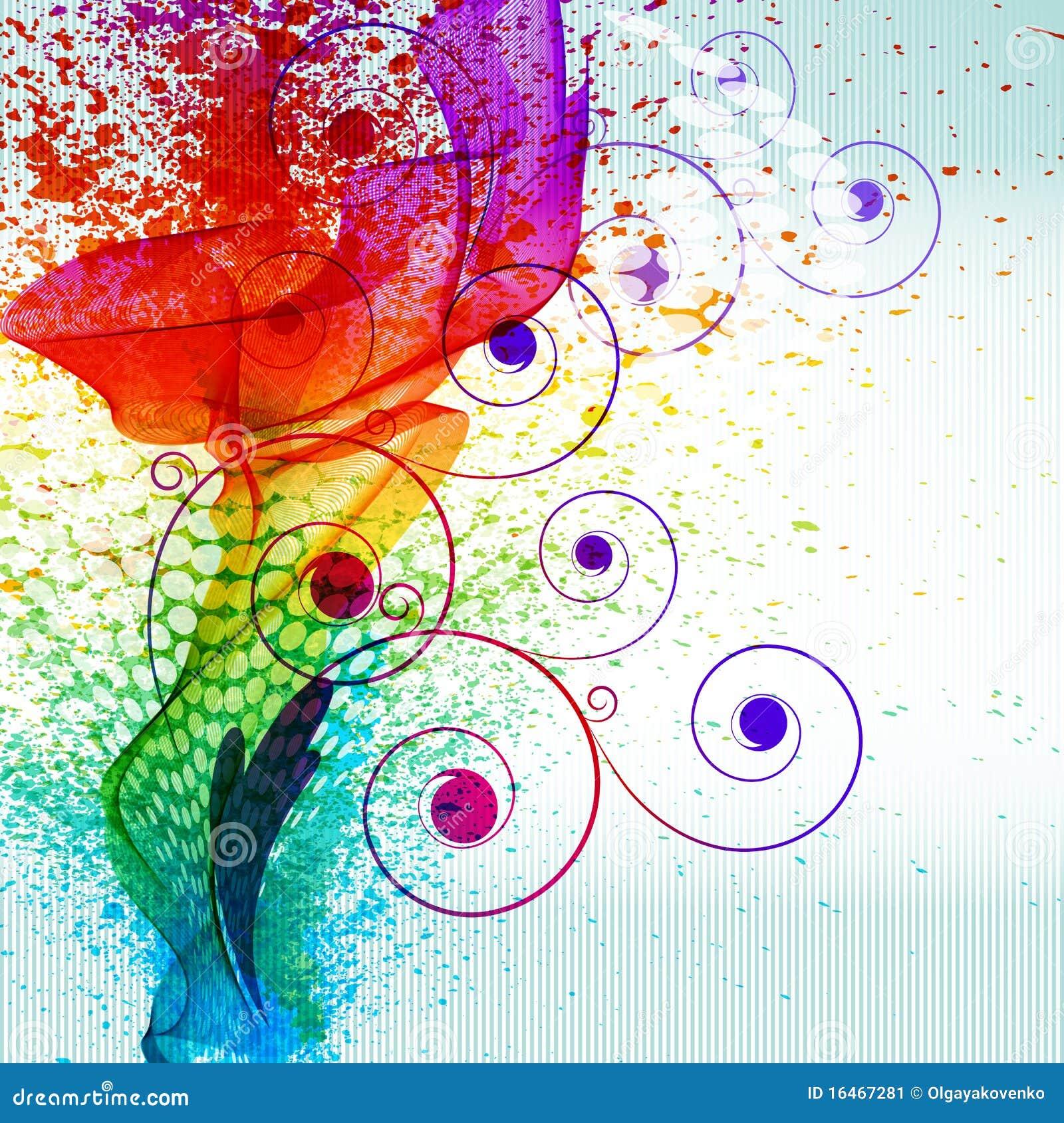 La peinture de couleur clabousse image stock image for Peinture de couleur