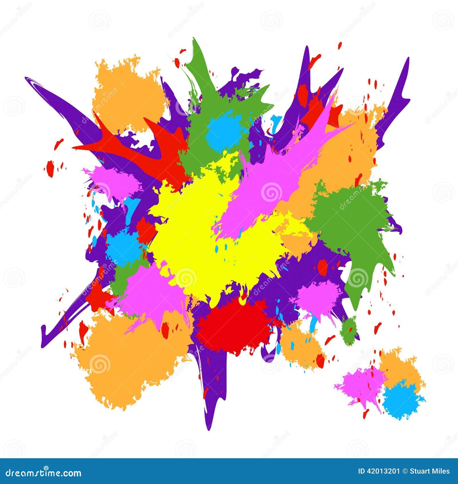la peinture de couleur signifie la texture grunge et artistique illustration stock image 42013201. Black Bedroom Furniture Sets. Home Design Ideas