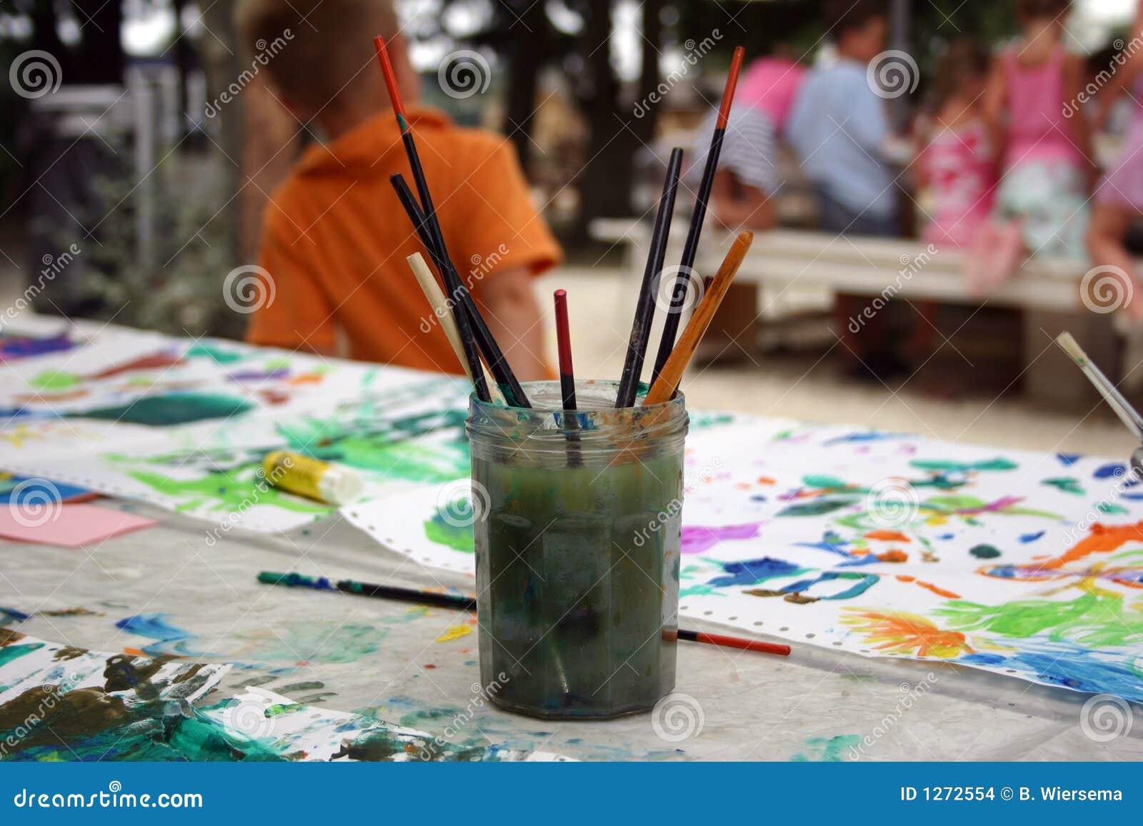 La peinture des enfants