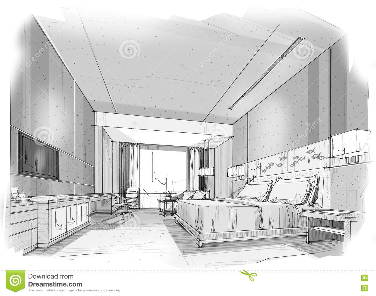 Awesome Arts Plastiques Chambre En Perspective Images ...