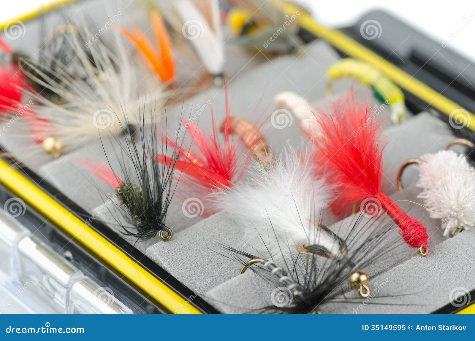 La pesca con la mosca vola