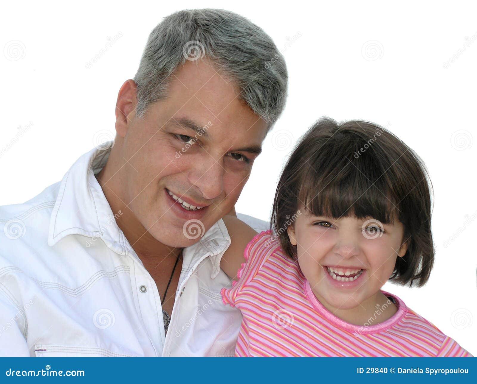La petite fille du papa