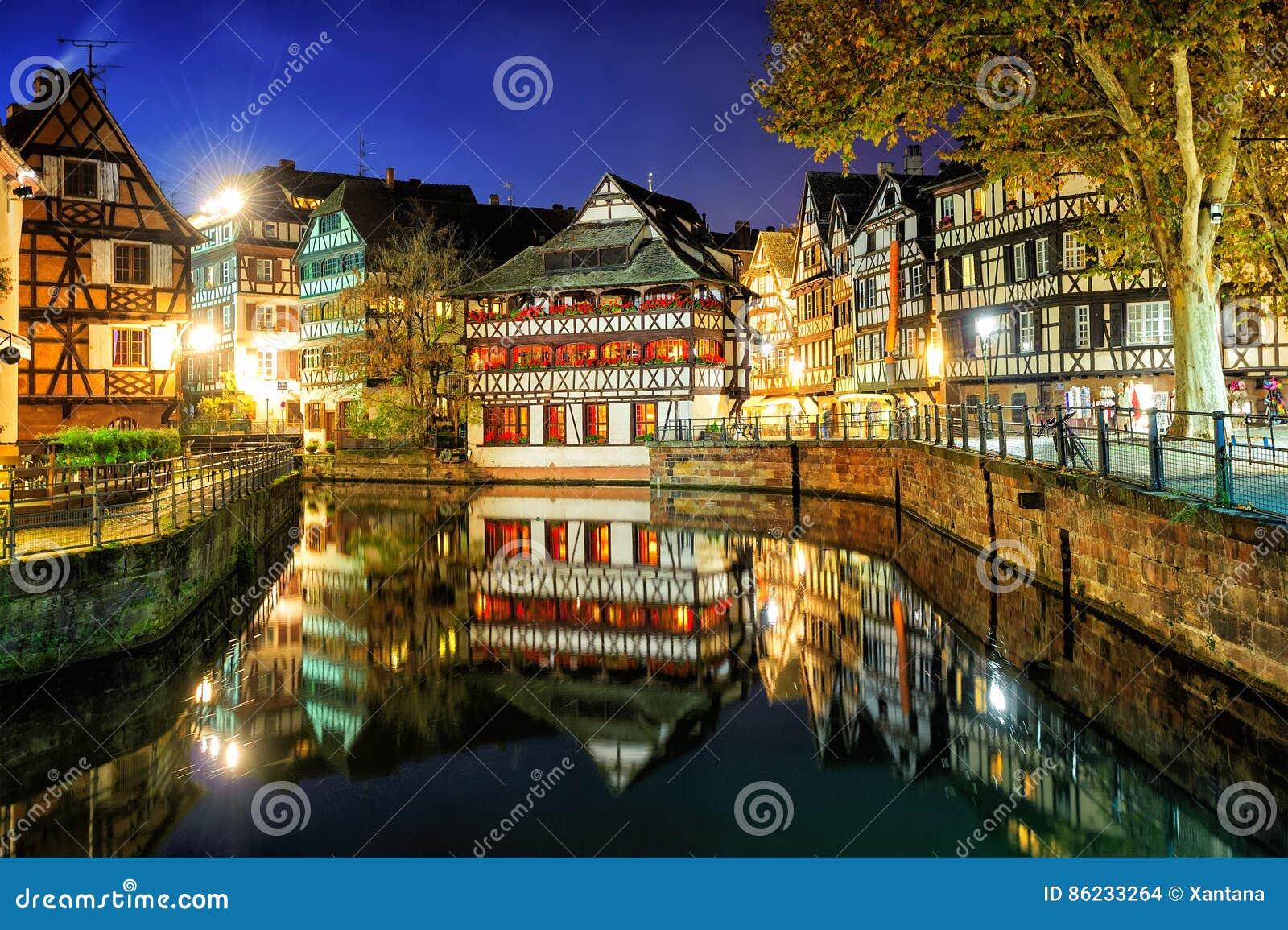 La Petite France, Strasbourg, Alsácia, França