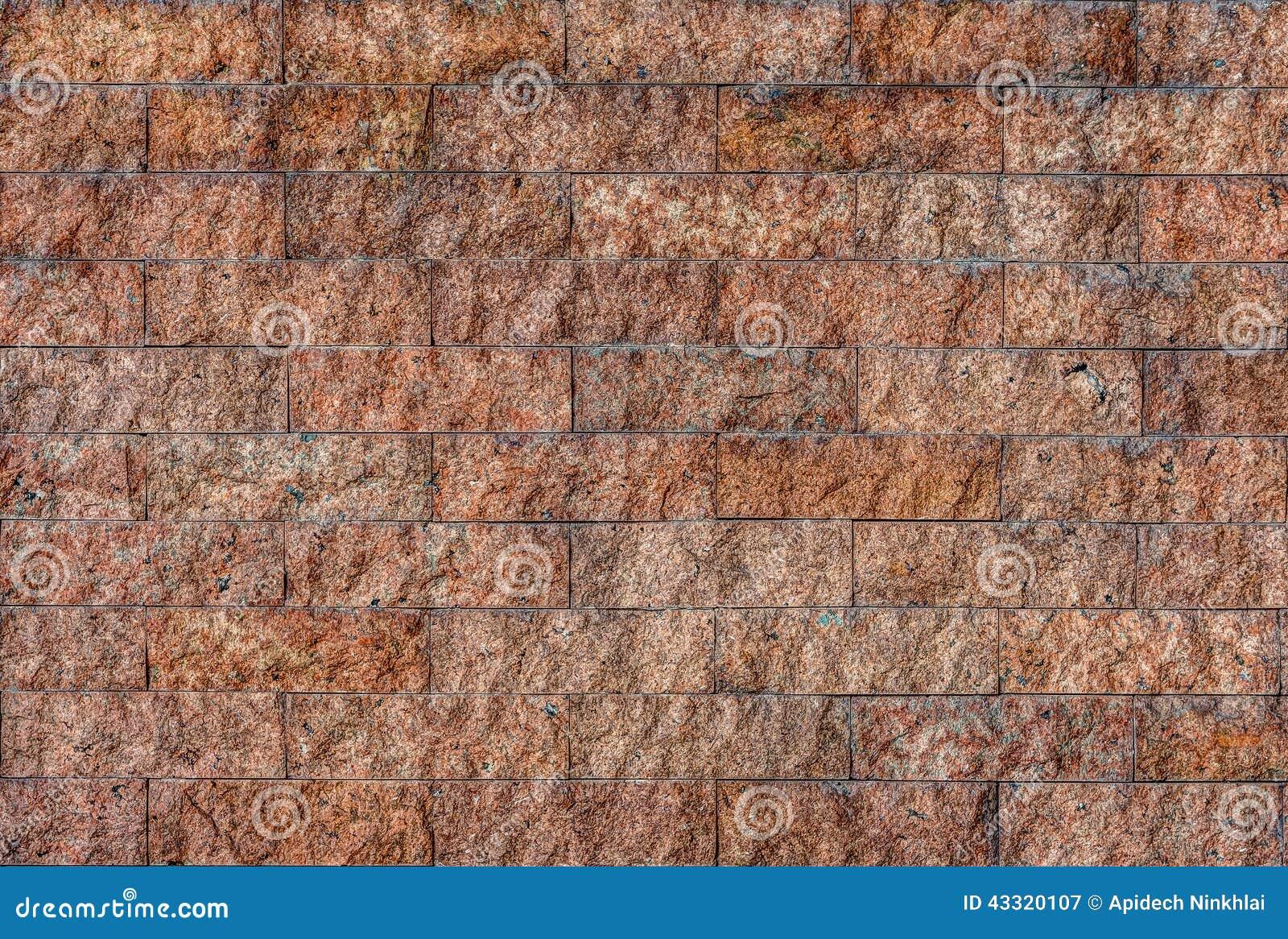 la piedra natural del granito teja la pared foto de