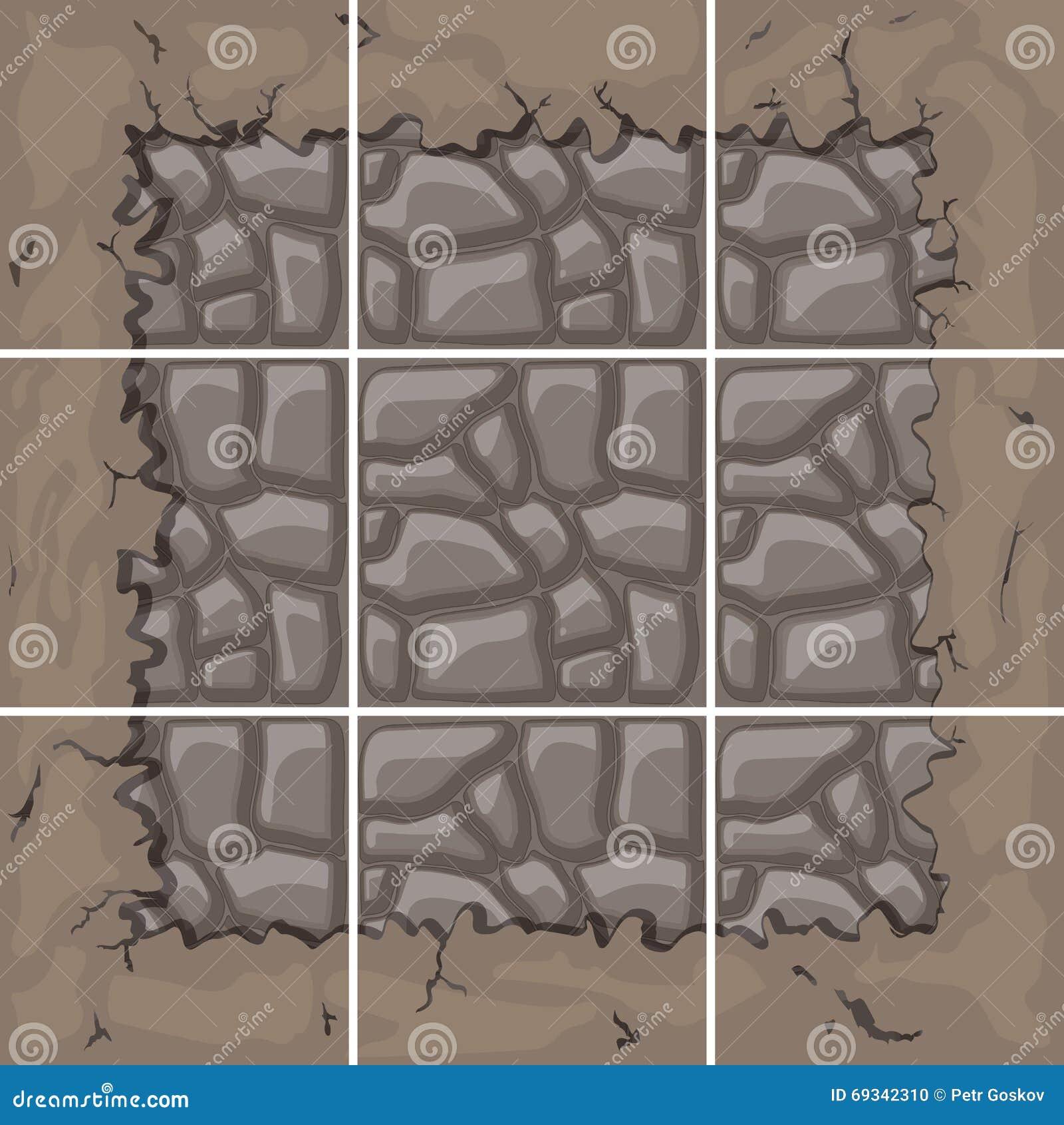 La pierre couvre de tuiles le kit