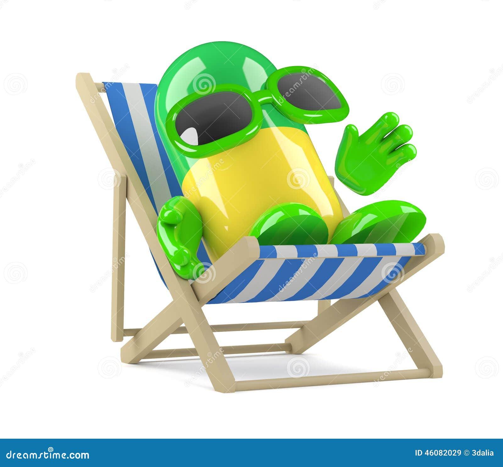 La pillola 3d ha luogo in vacanza
