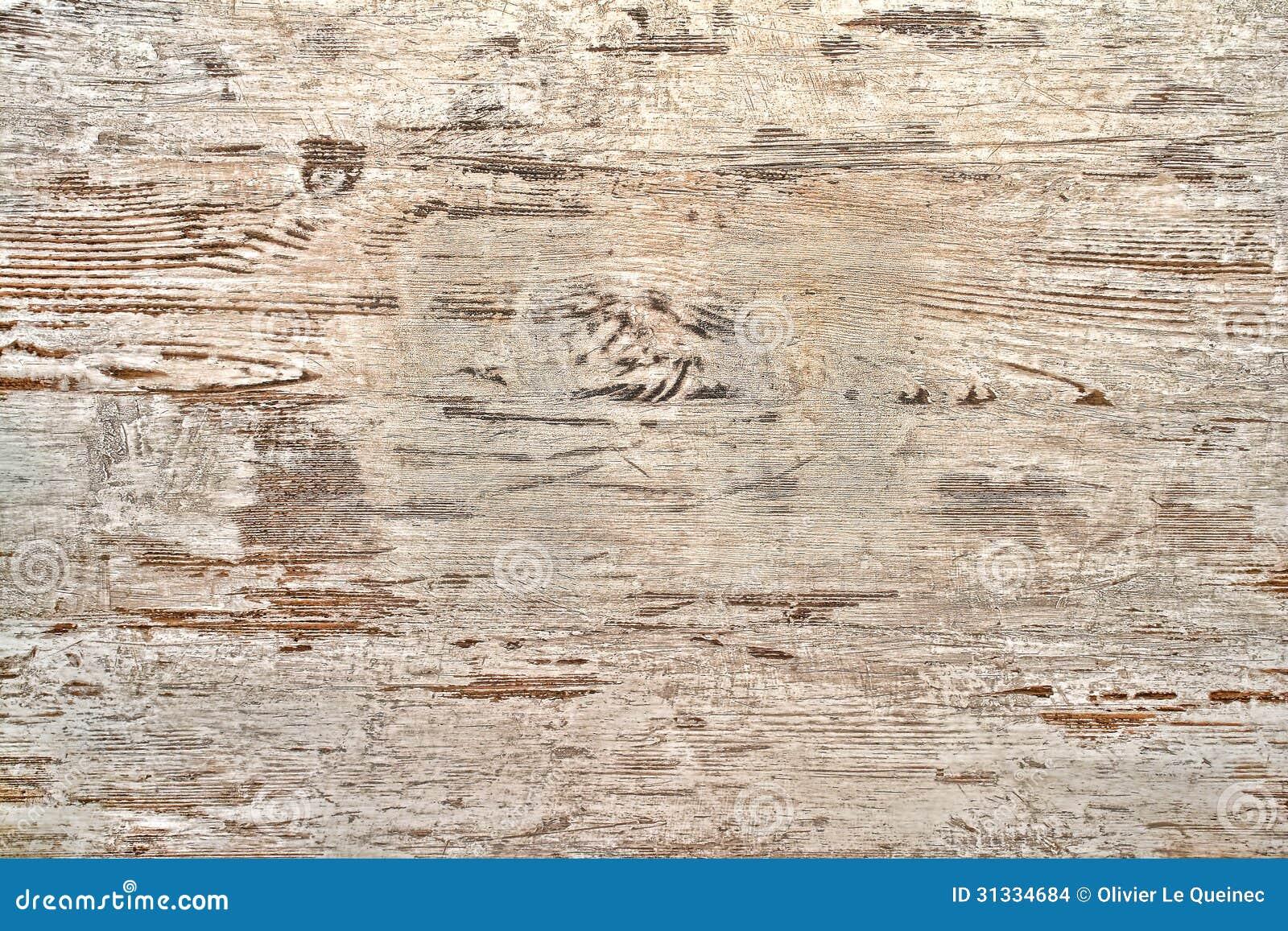 La pintura blanca de la vieja peladura en la madera sube - Madera blanca envejecida ...