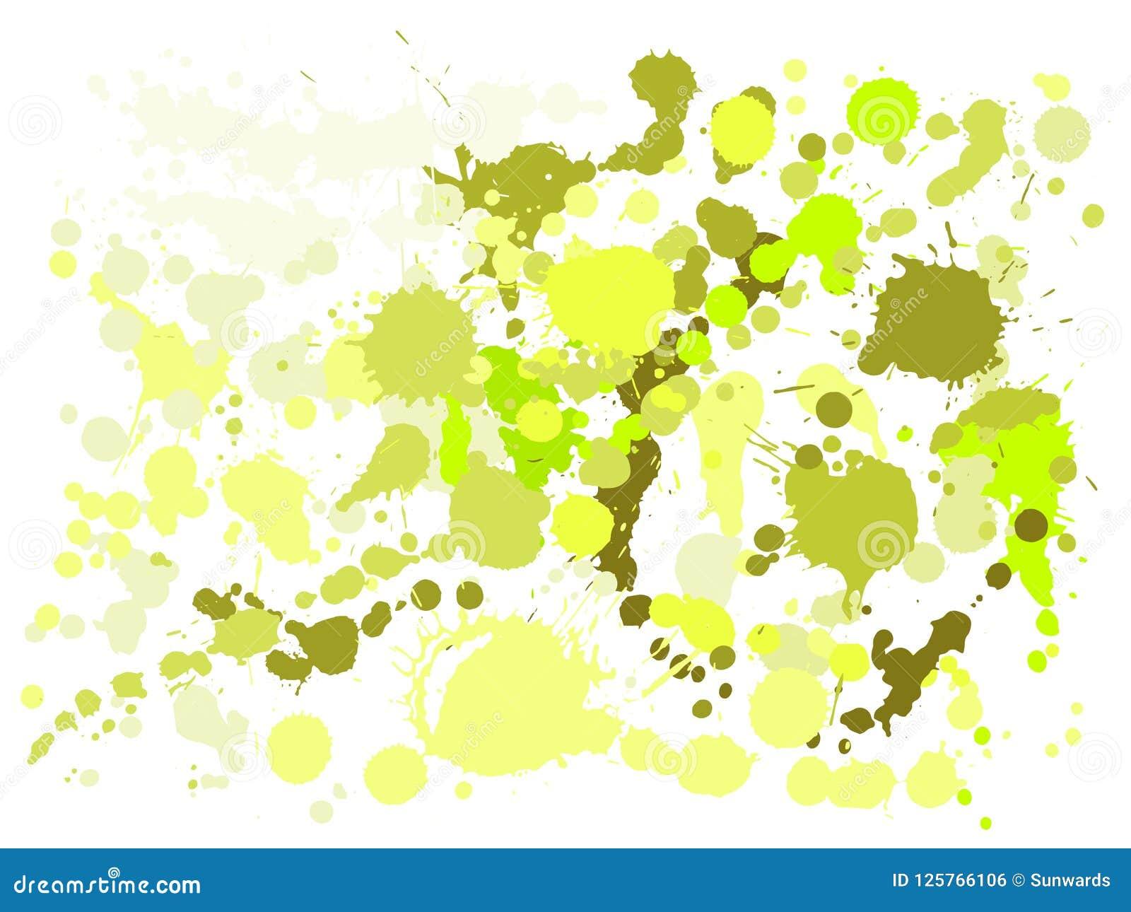 La pintura del aguazo mancha vector del fondo del grunge La salpicadura  fresca de la tinta 4dfcc8aa45c0