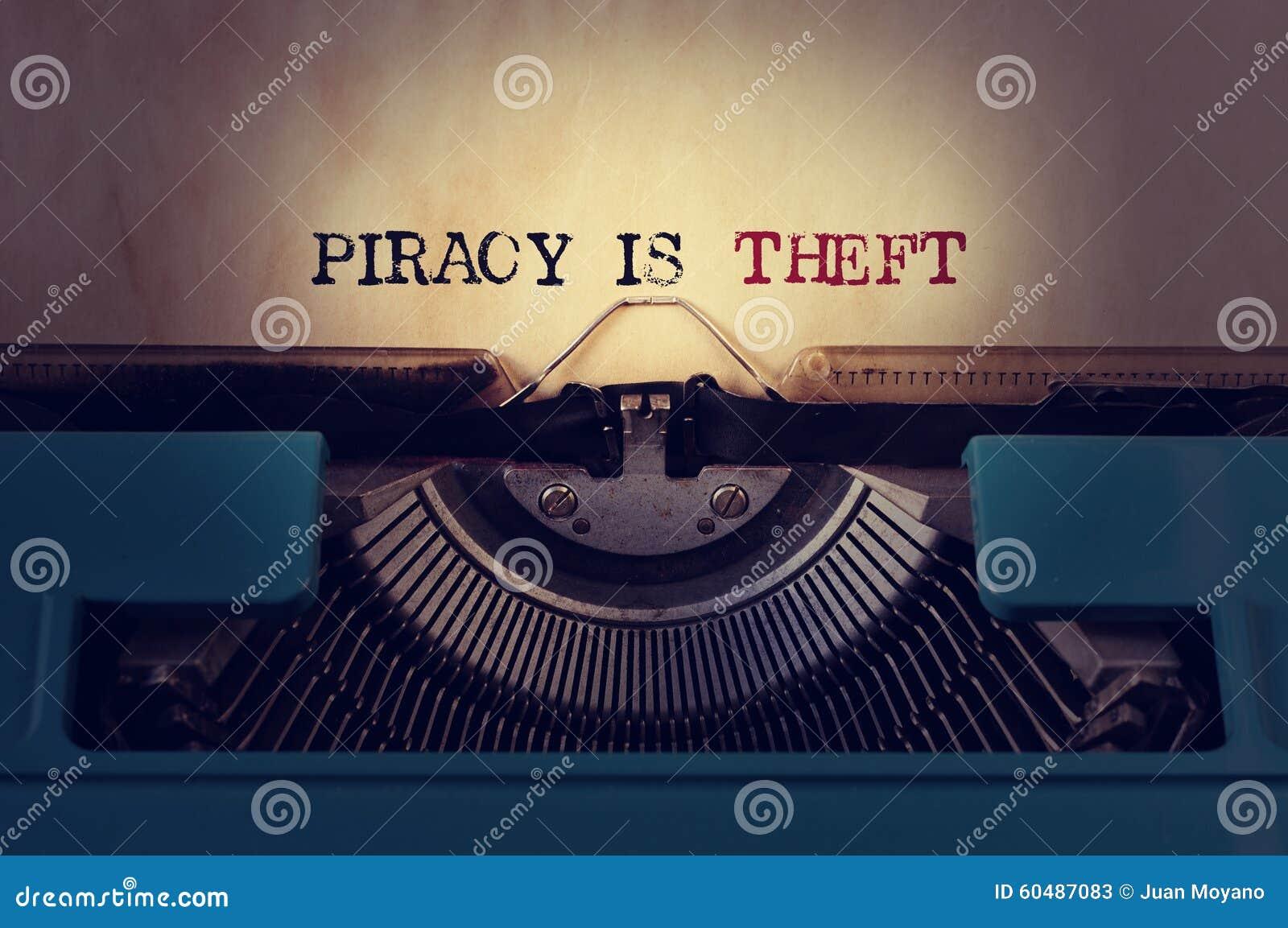 La piraterie est vol