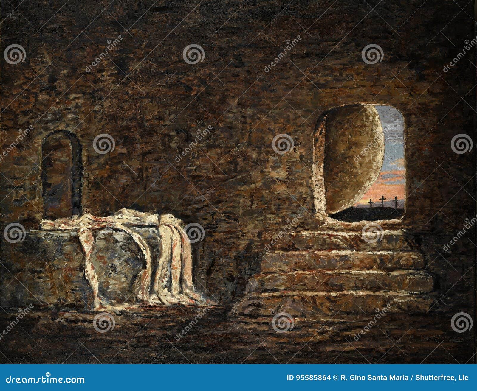 La pittura vuota della tomba
