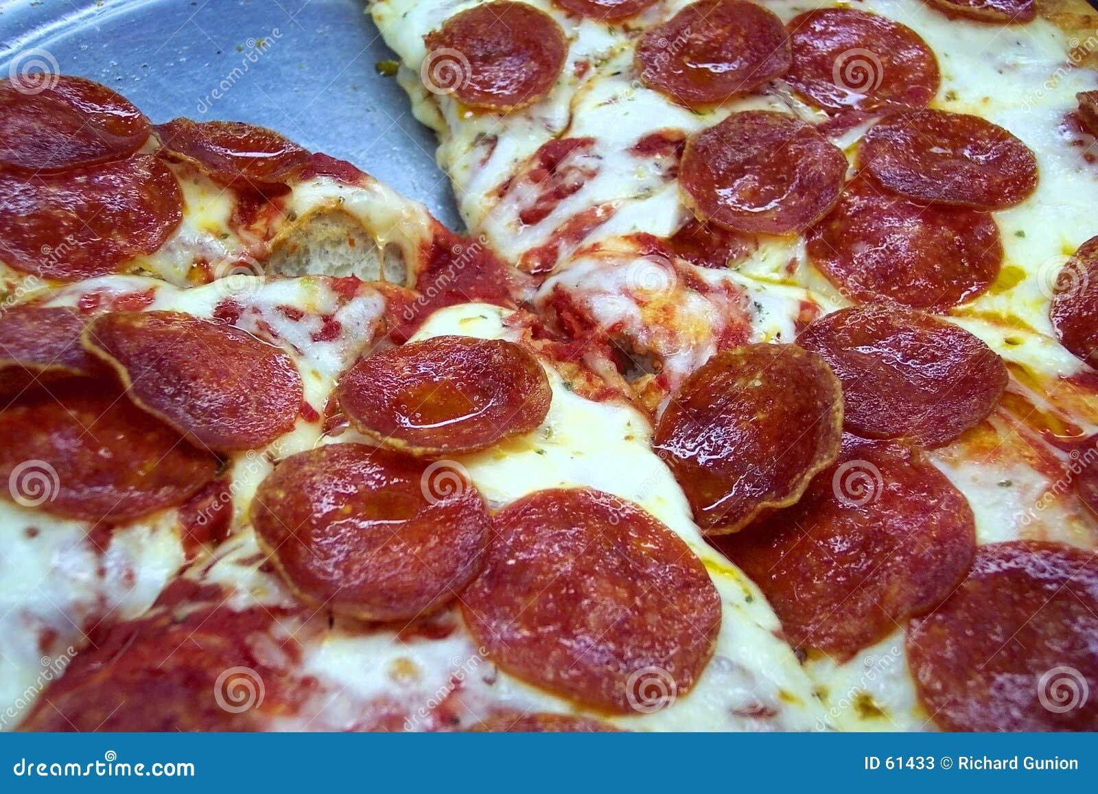 Download La Pizza De L'amoureux De Pepperoni Image stock - Image du camelote, dîner: 61433