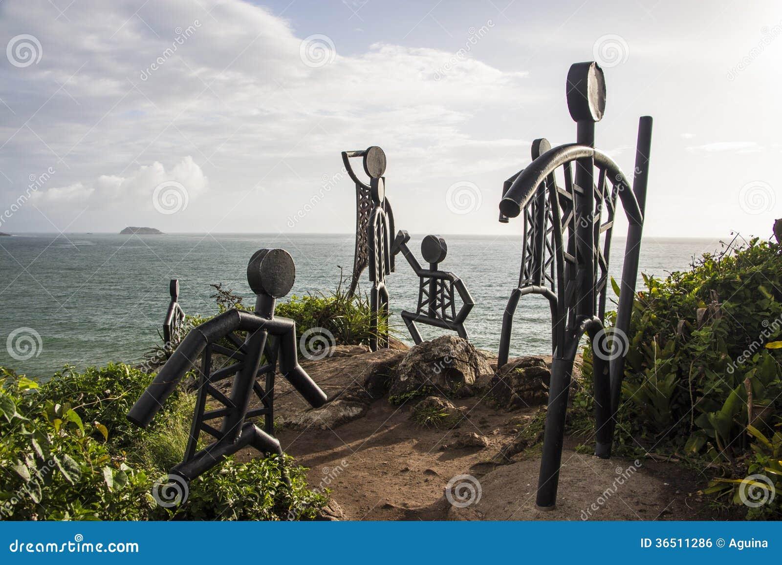 La plage de Santinho - Florianópolis/SC - le Brésil