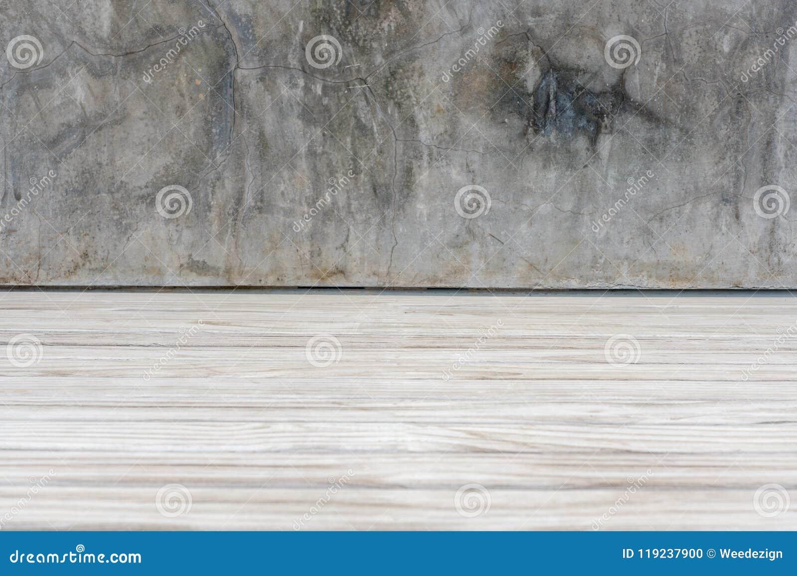 La Plinthe Du Mur la planche grunge de mur en béton et en bois parquettent la
