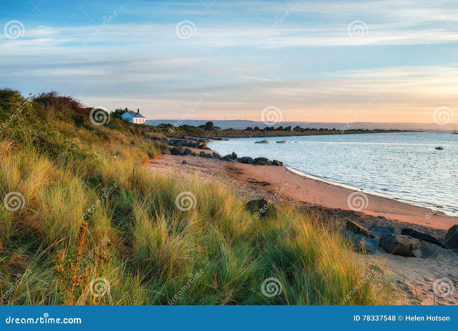 La playa en el punto del cuervo