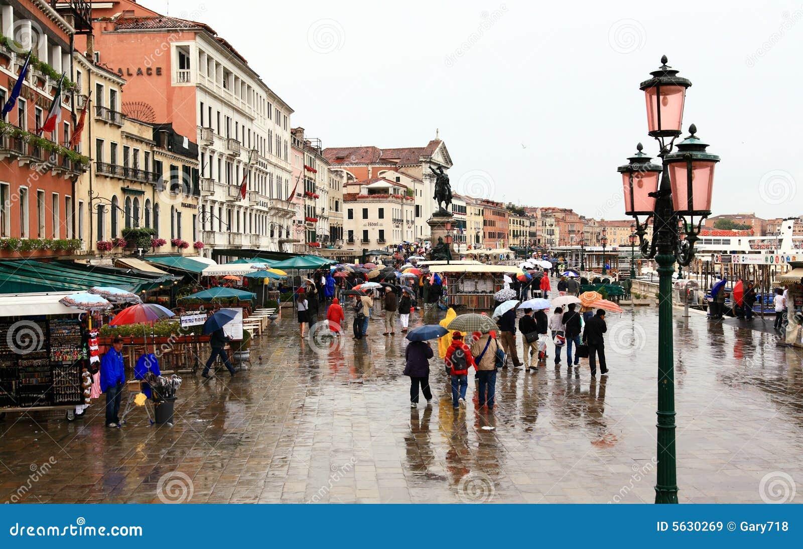 La plaza Venecia de San Marco