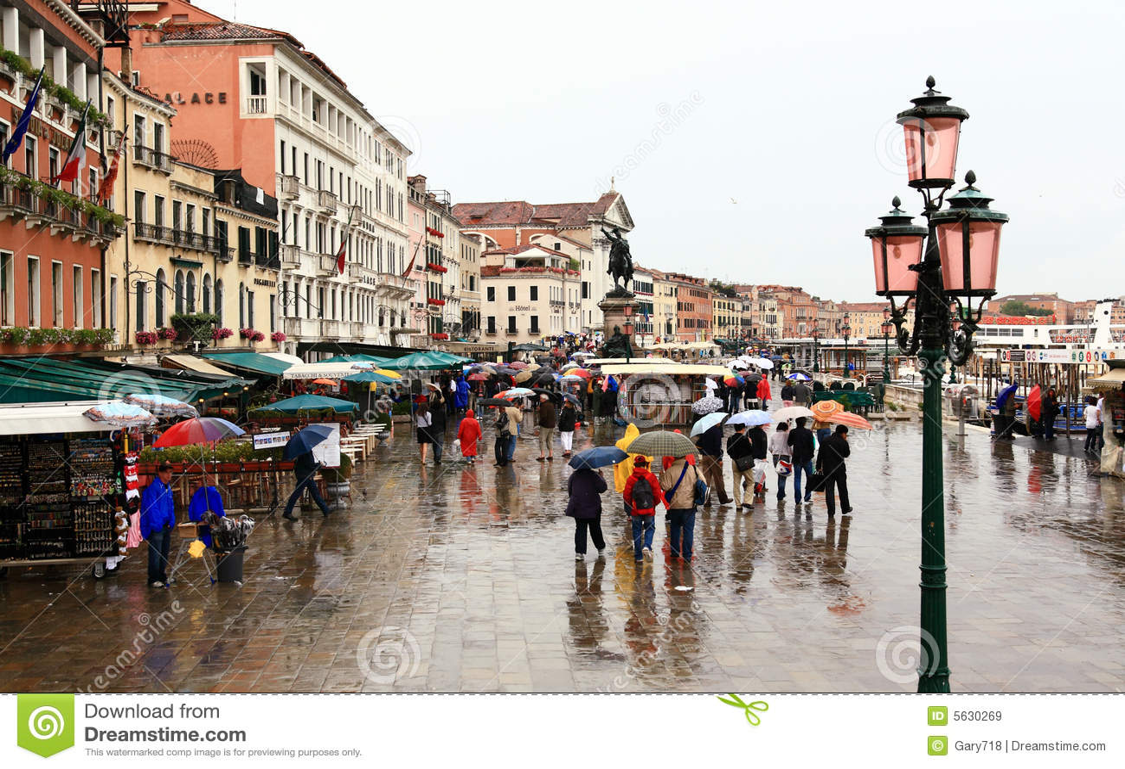 La plaza Venezia del San Marco