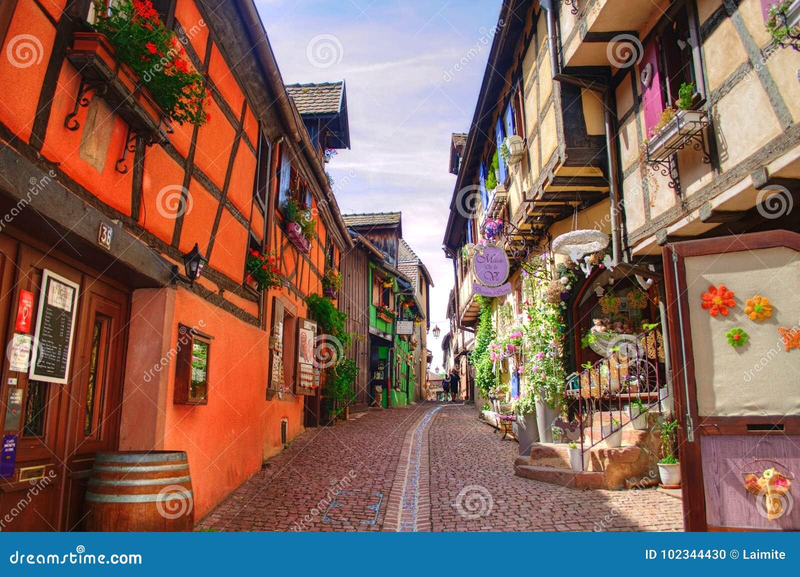 La plupart des beaux villages des Frances - Riquewihr en Alsace