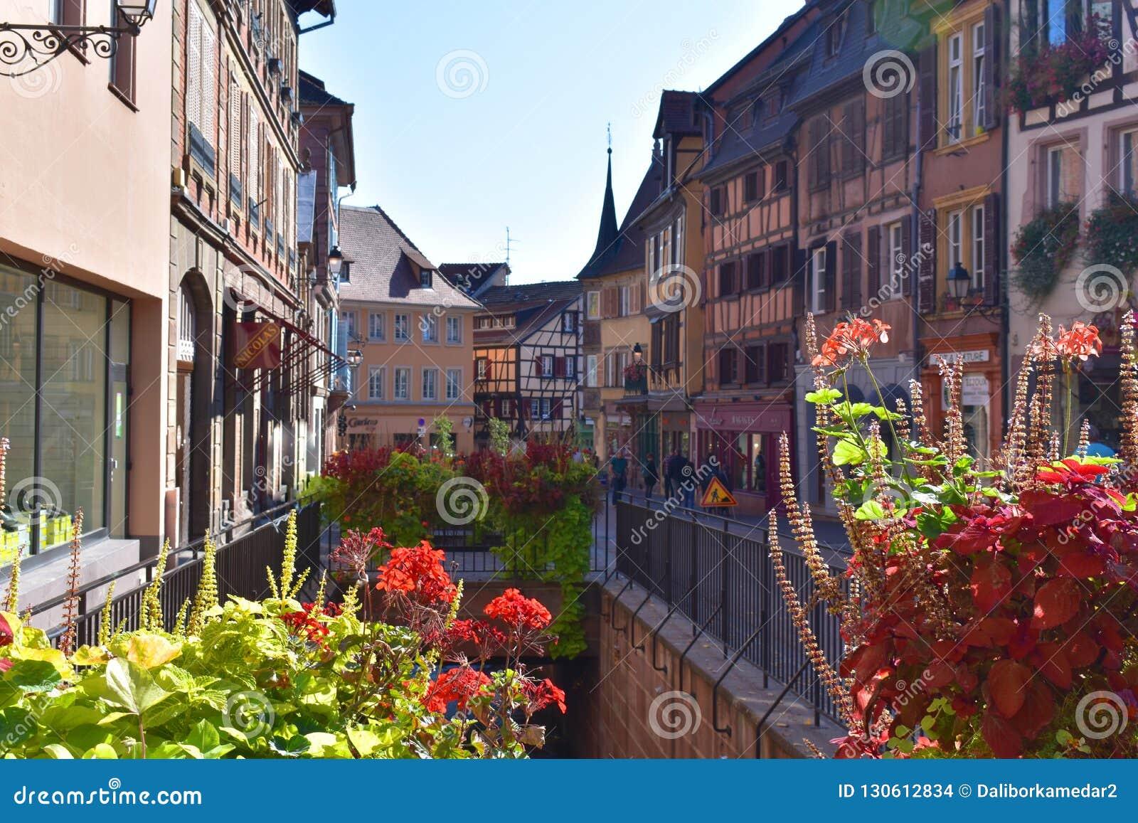 La plupart des beaux villages traditionnels des Frances - Colmar en Alsace
