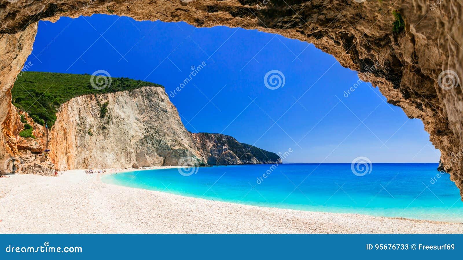 La plupart des belles plages des séries de la Grèce - Porto Katsiki dans Lefka