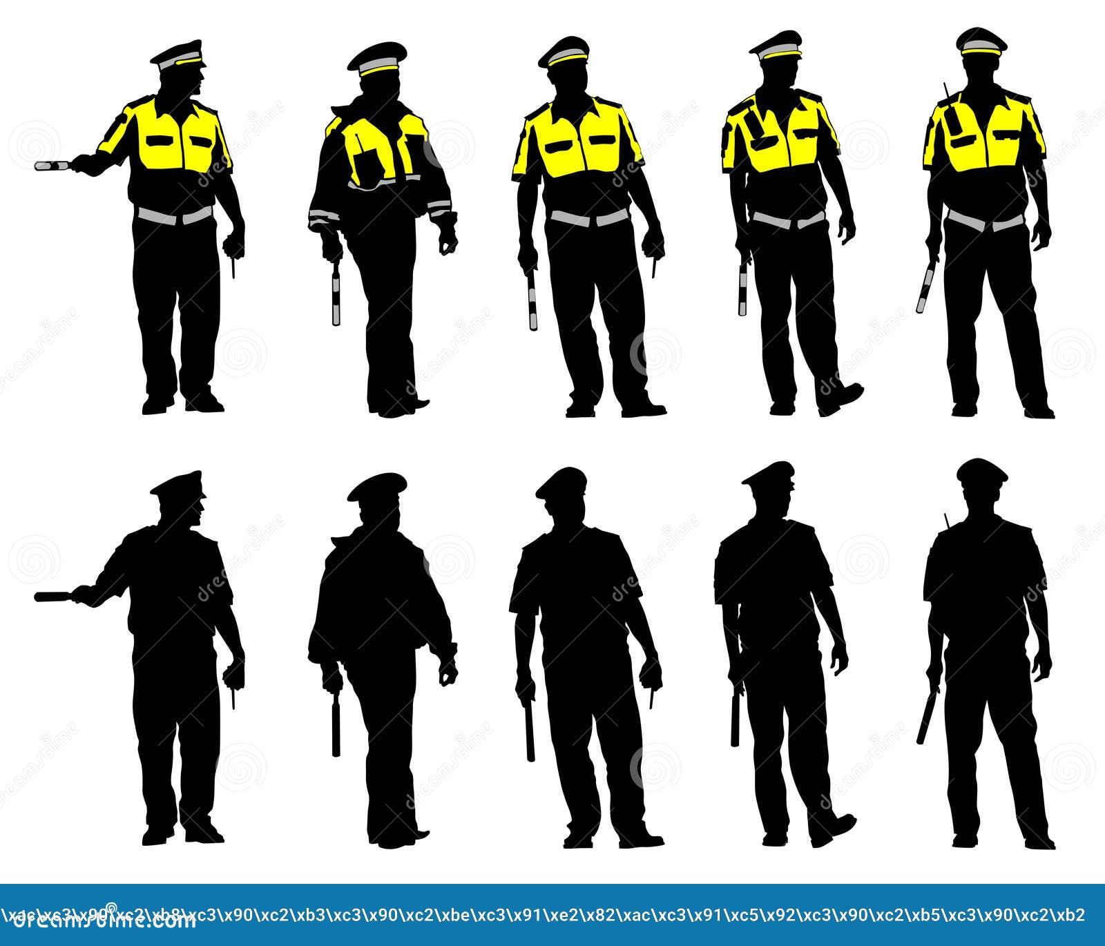 La police de la circulation six